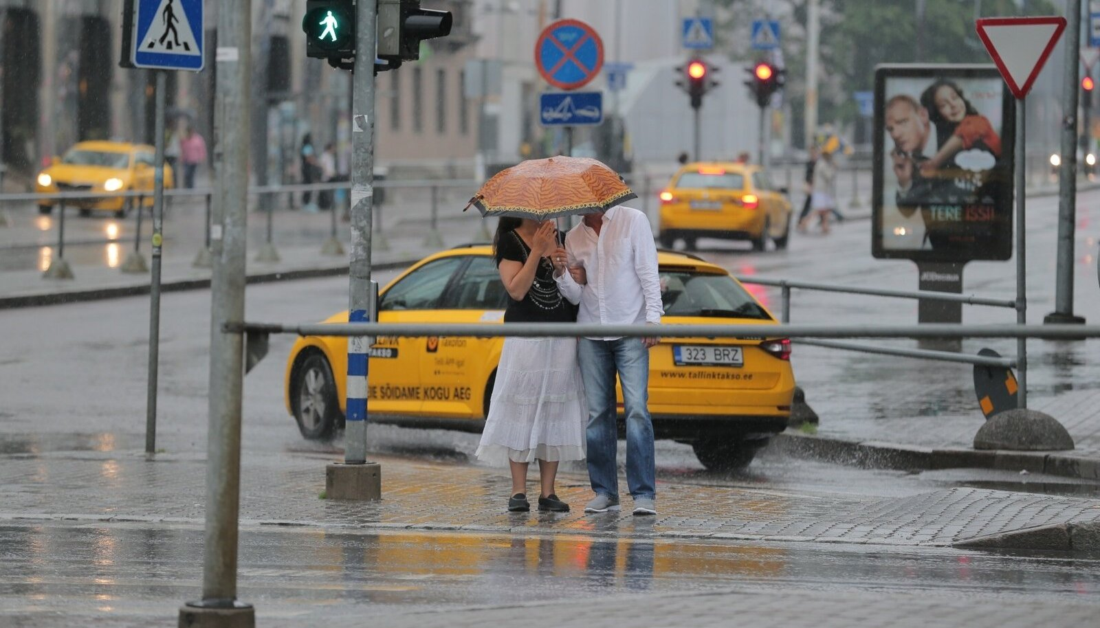 Vihmane ilm Tallinnas
