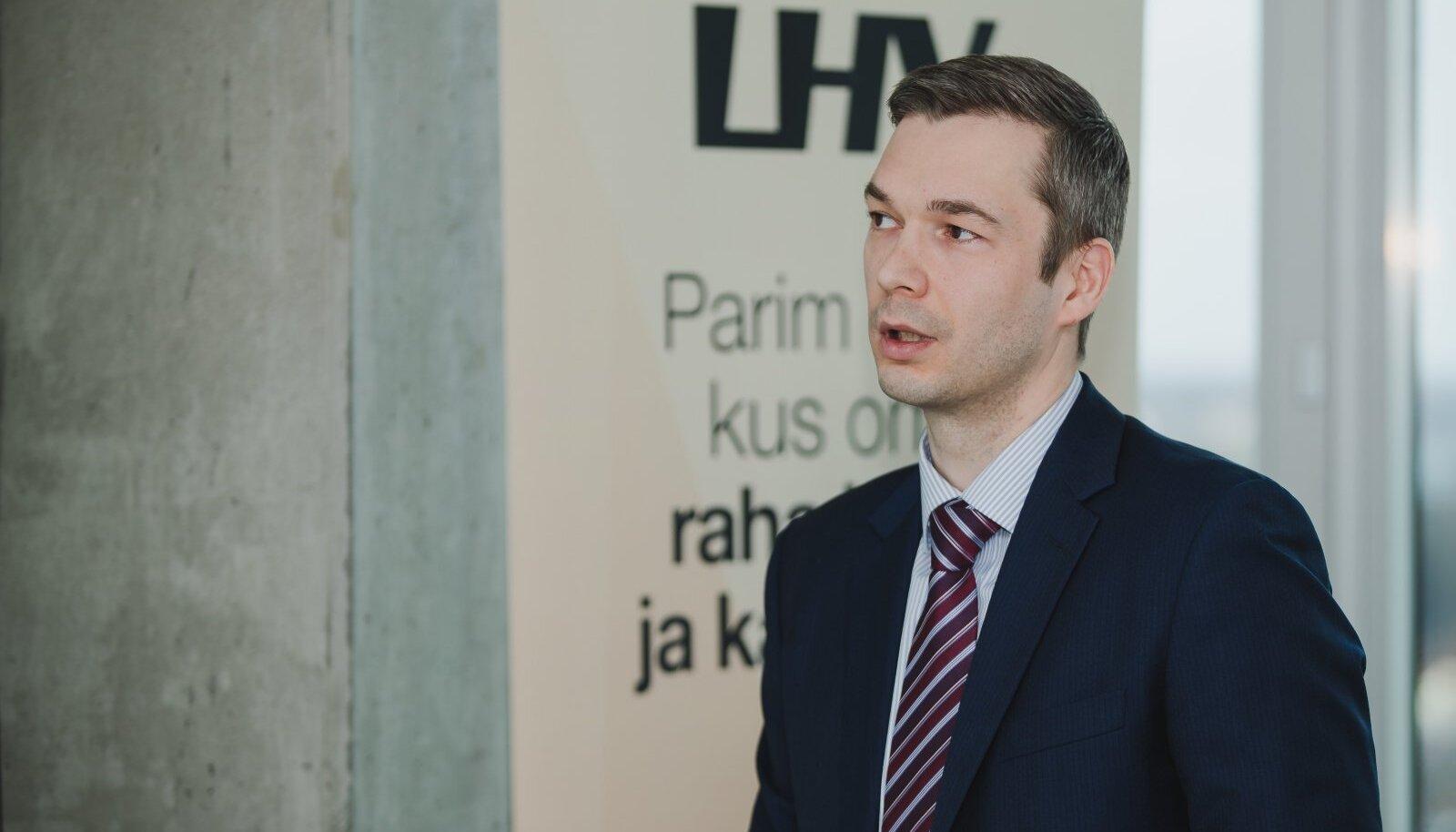 LHV juht Madis Toomsalu ennustab pangale kiiret kasvu.