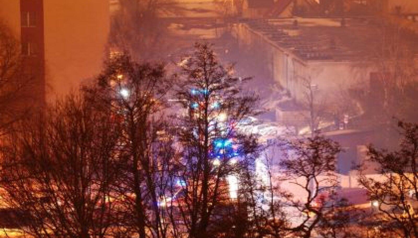 plahvatus Kuldnoka tänaval