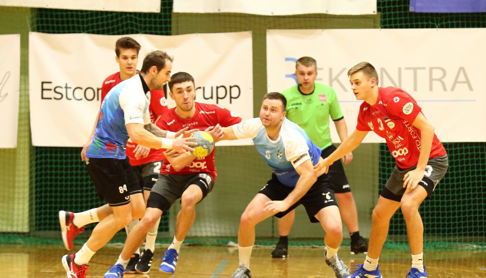 Hetk Eesti karikavõistluste teisest poolfinaalist Põlva/Arcwoodi ja Põlva Serviti vahel.