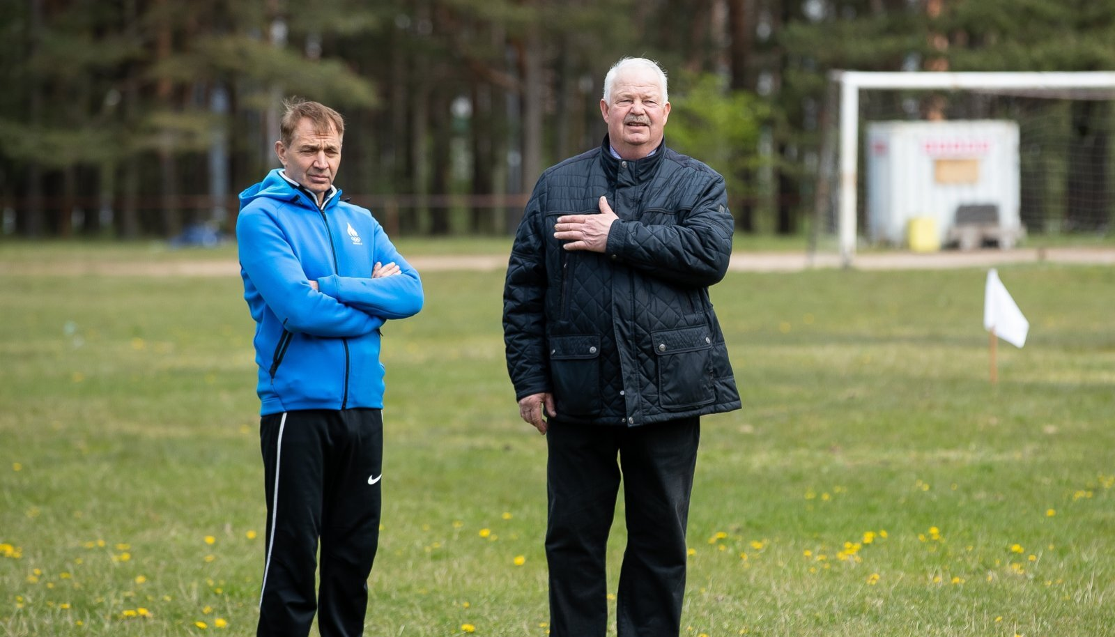 Urmas Sõõrumaa ja Jüri Tamm.