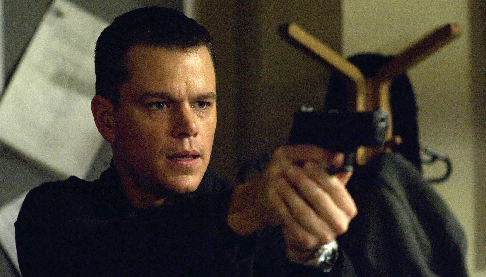 Jason Bourne Matt Damoni kehastuses
