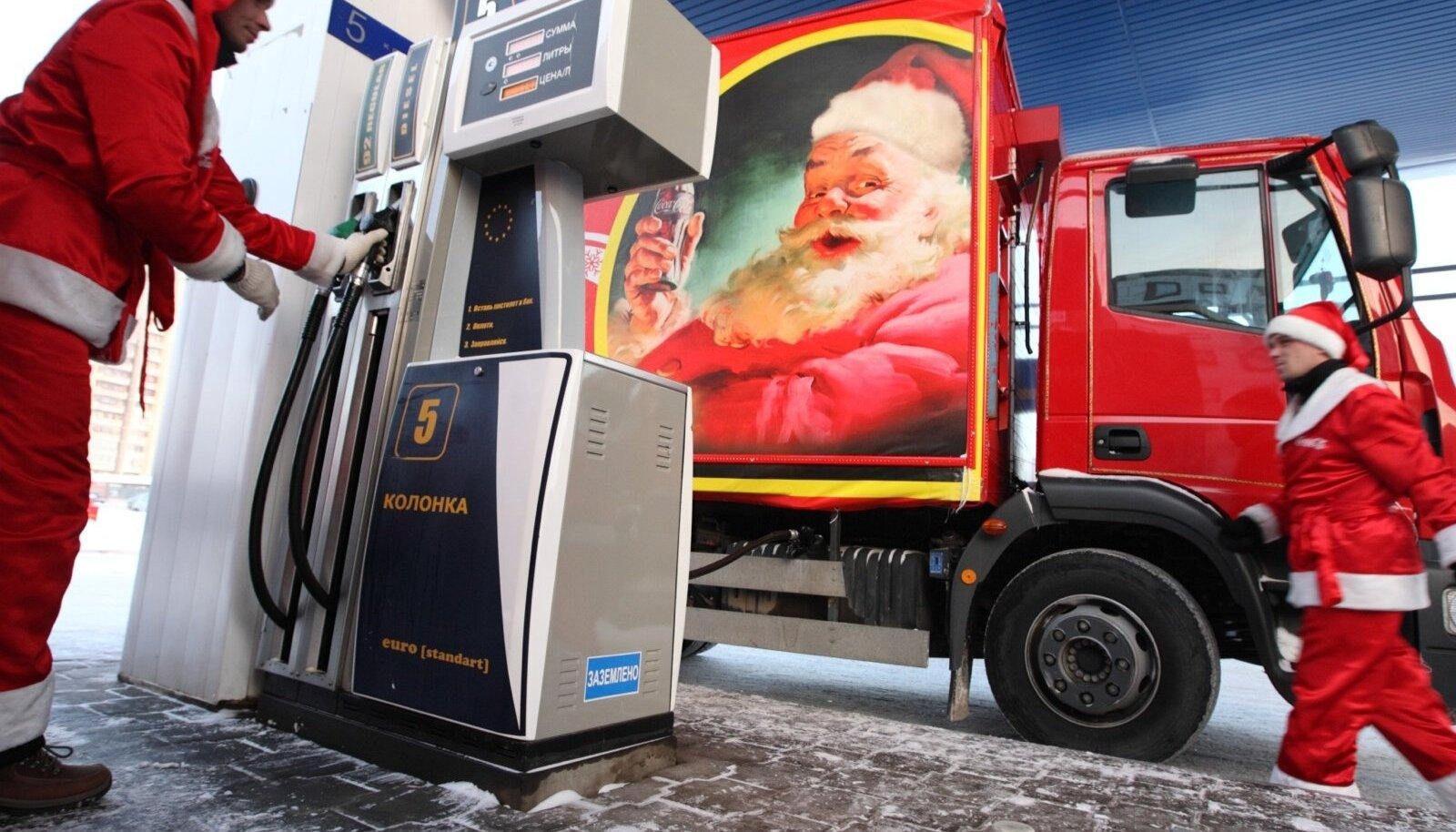 Coca-Cola jõulukaravan Venemaal