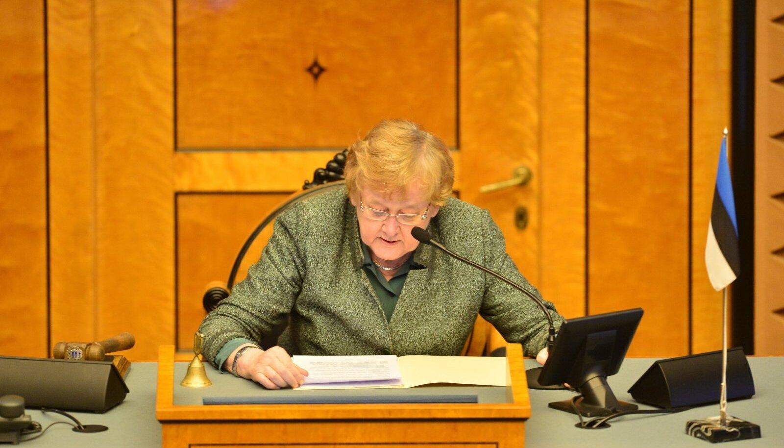 Kui akadeemik Ene Ergma oli riigikogu esimees, suhtus ta väga tõrjuvalt esinaise tiitlisse,