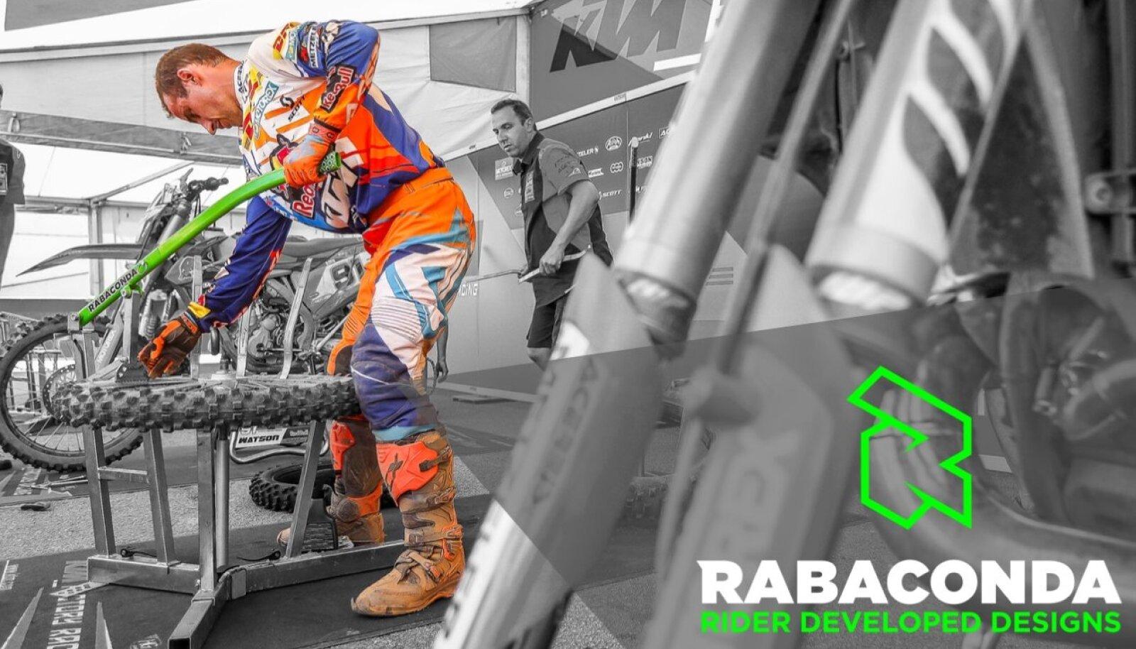 Motosportlaste hulgas on palju leidlike ja osavaid inimesi, kes on loonud väga praktilisi ja ägedaid tööriistu ja vidinaid tsiklitele. Rabaconda missiooniks on aidata need leiutised nende garaažist välja, viimistleda tooteks ning teha kättesaadavaks.