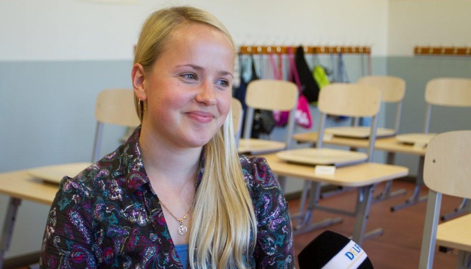Pirita majandusgümnaasiumi õpetaja Johanna Avik