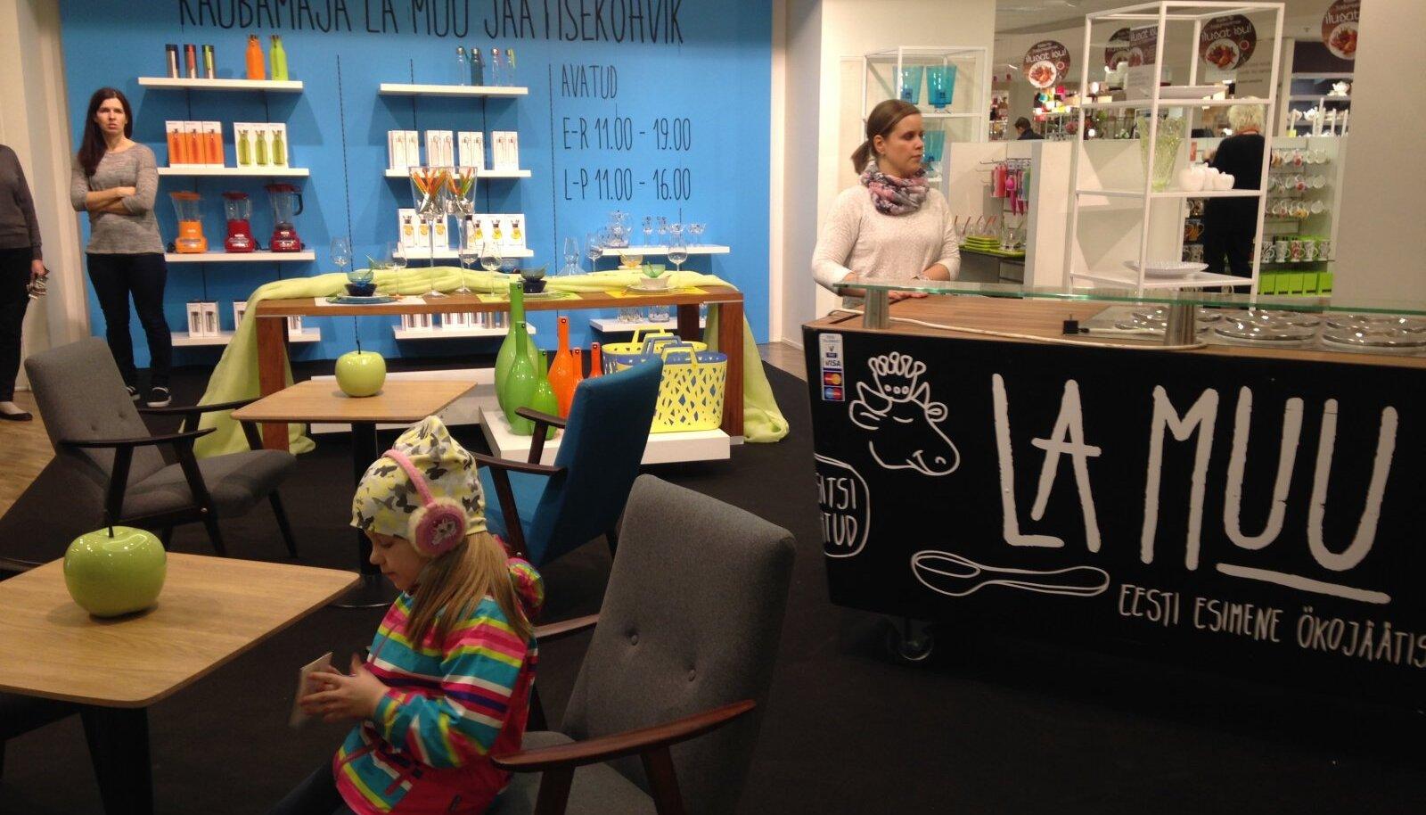 La Muu pop-up kohvik