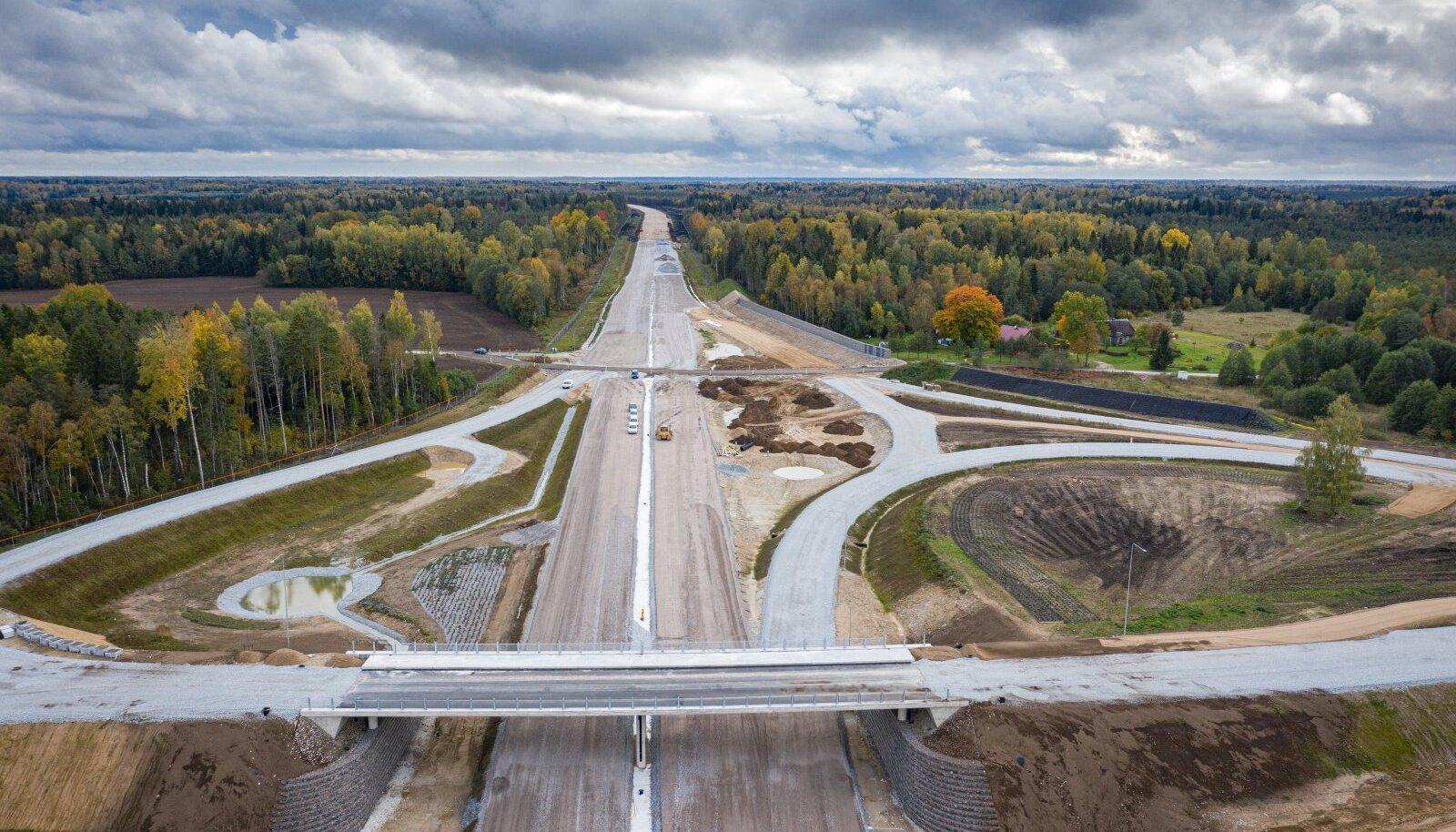 Tartu maantee ehitus