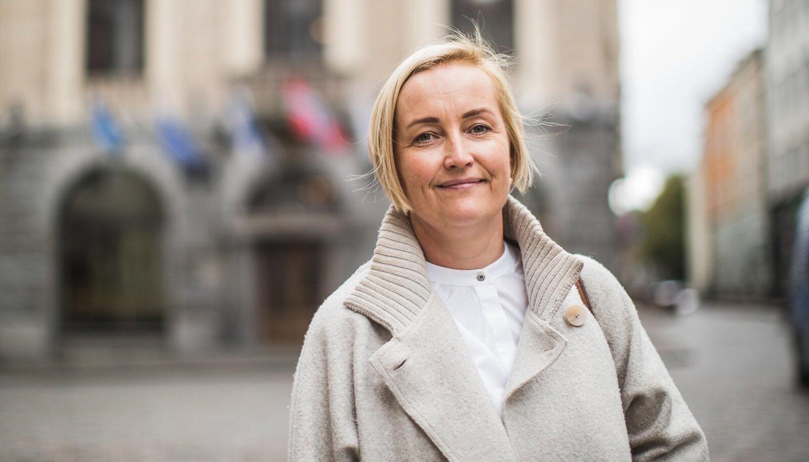 Kristina Kallas rebis uue tulijana peaministriküsitluses kolmandale kohale,