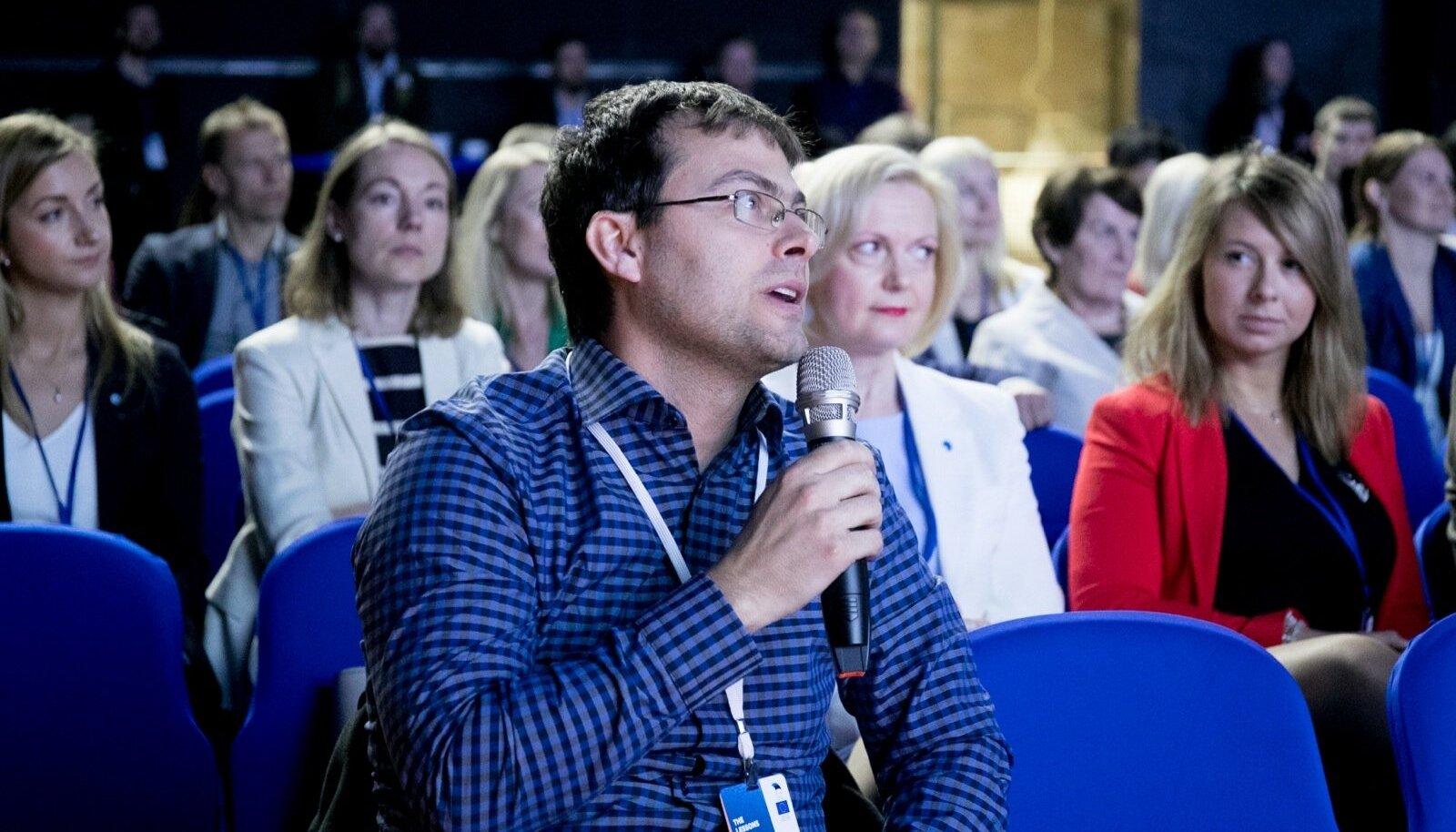 Tšehhi Masaryki ülikooli teadur Petr Švenda Kultuurikatlas konverentsil