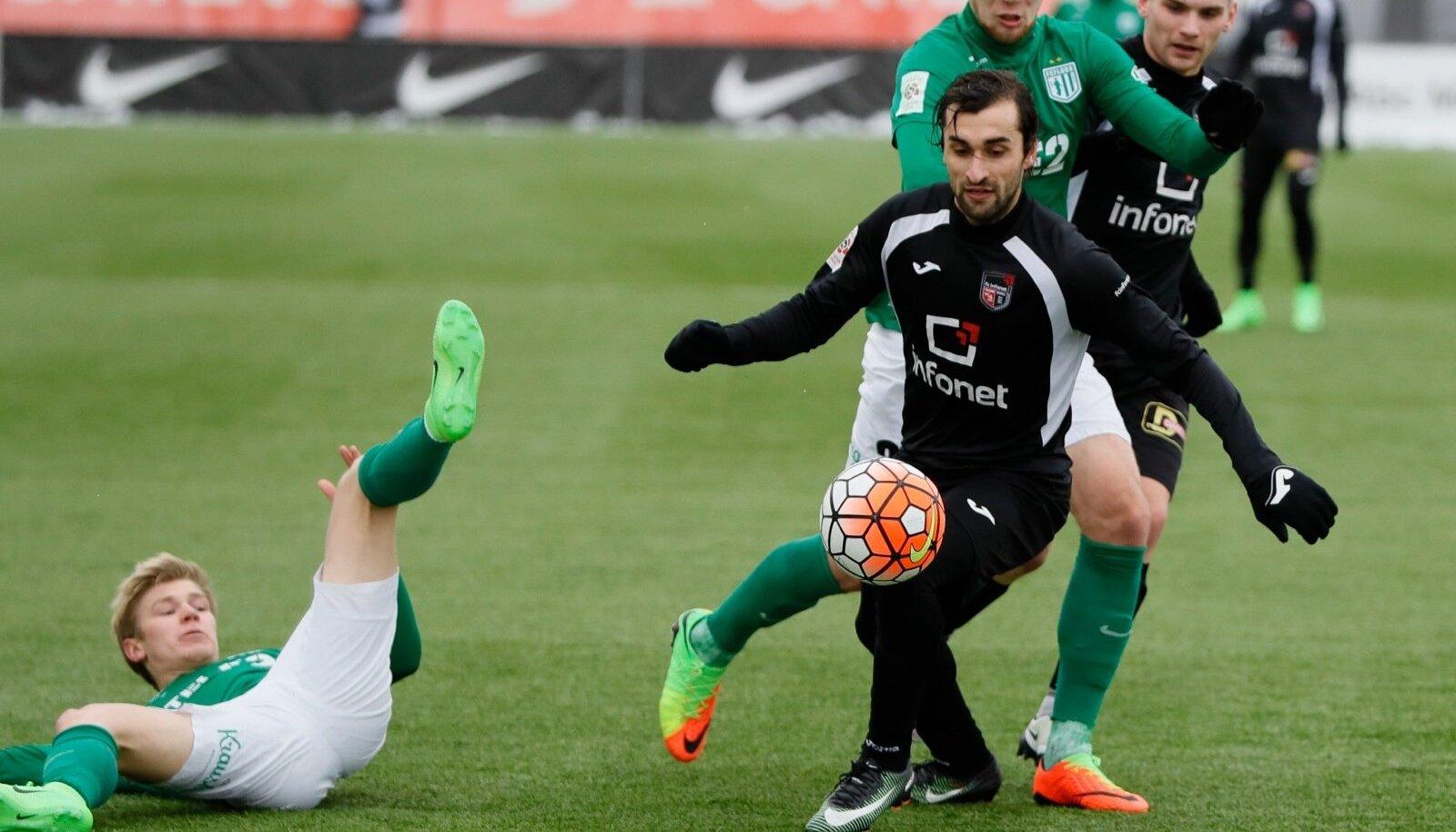FC Flora vs FC Infonet