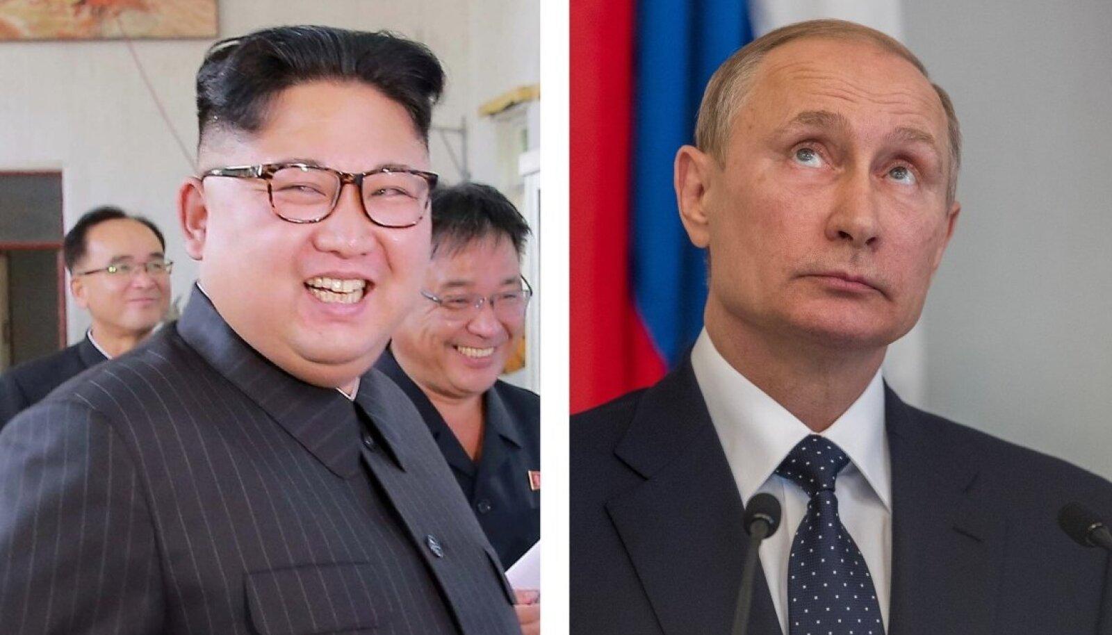 Kim Jong-un ja Vladimir Putin
