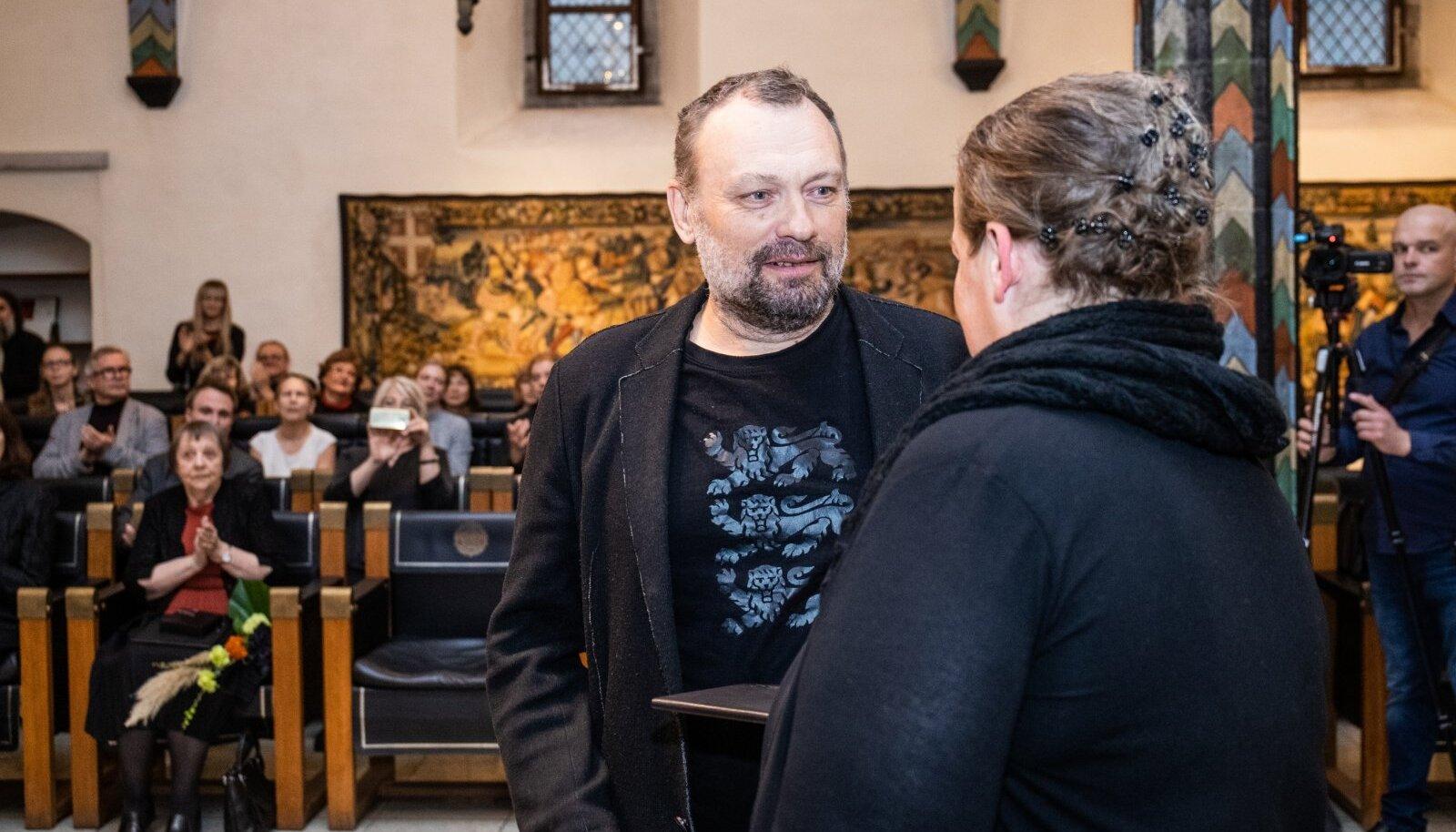 Kristjan Raua preemia. Jaan Toomik