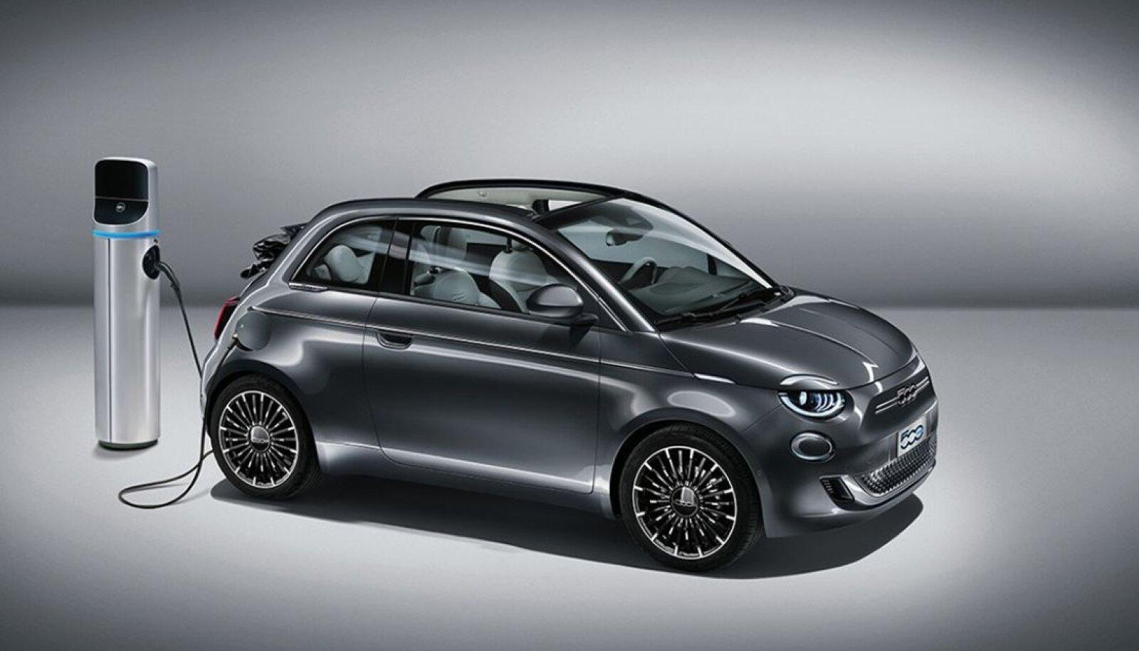 Elektrilise Fiat 500-ga sõites saab nüüdsest KiriCoini teenida