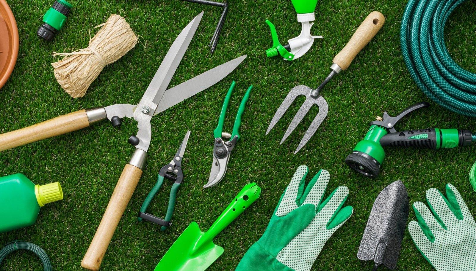 Aiatööriistade valik on lai, kuid mõni neist on asendamatu.