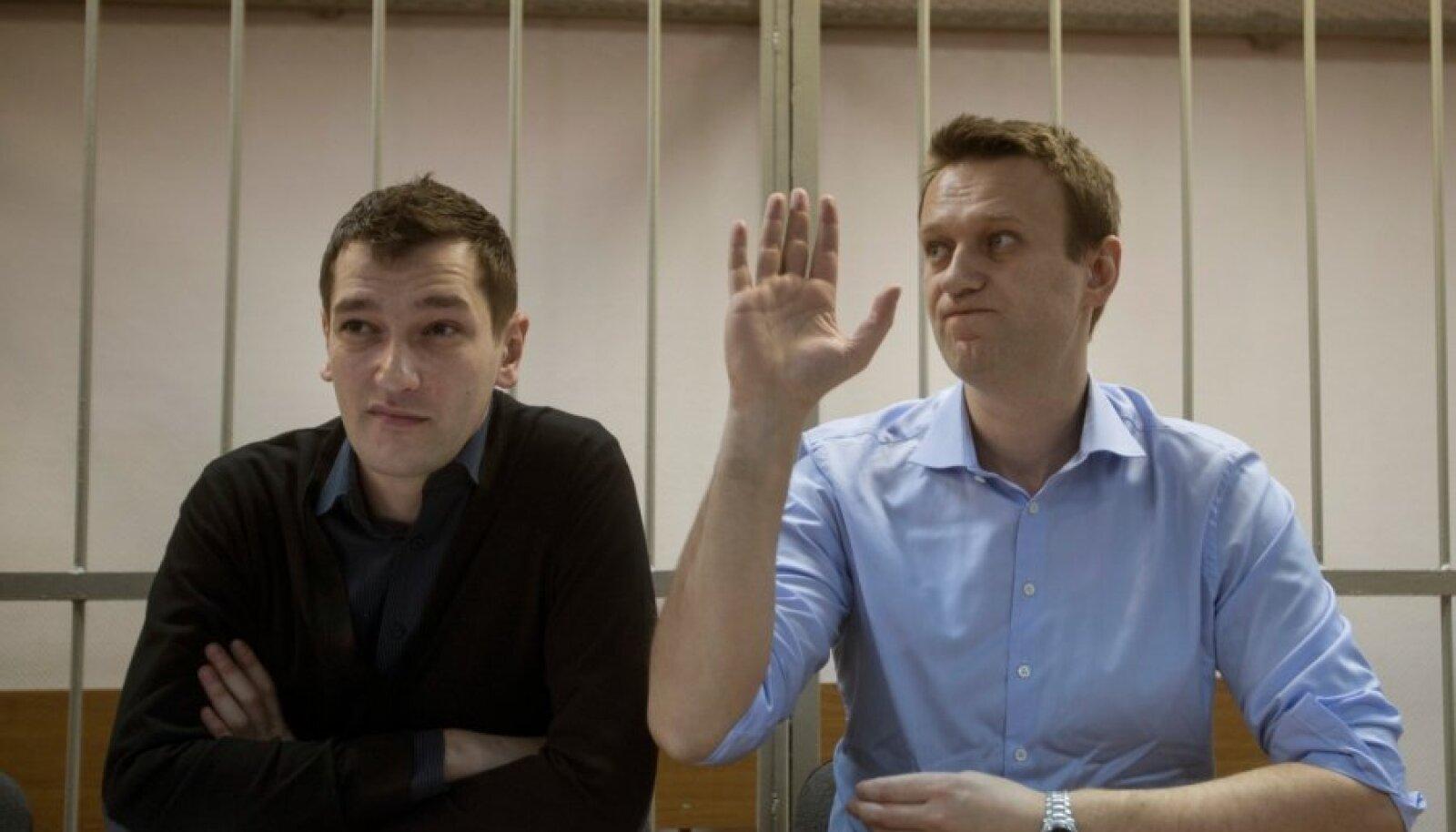 Aleksei (paremal) ja Oleg Navalnõi