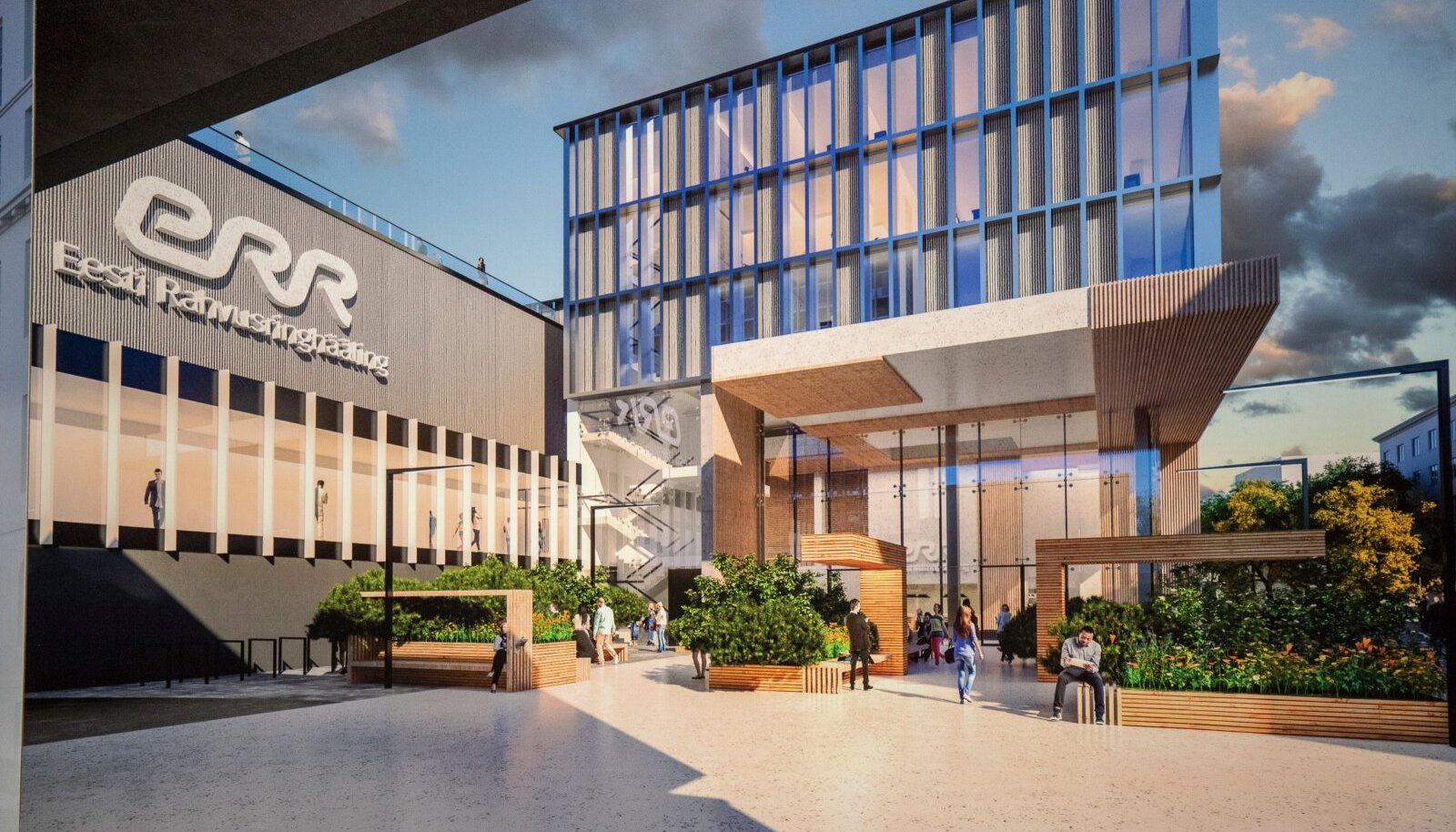 Uue telemaja arhitektuurikonkursi võitja väljakuulutamine