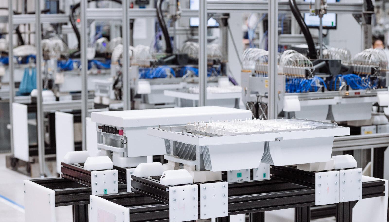 5G saatjate tootmine Ericssoni Tallinna tehases