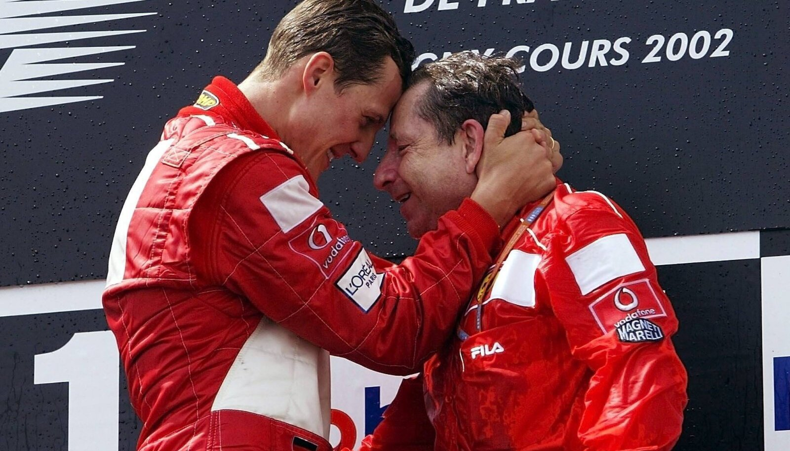 Michael Schumacher ja Jean Todt