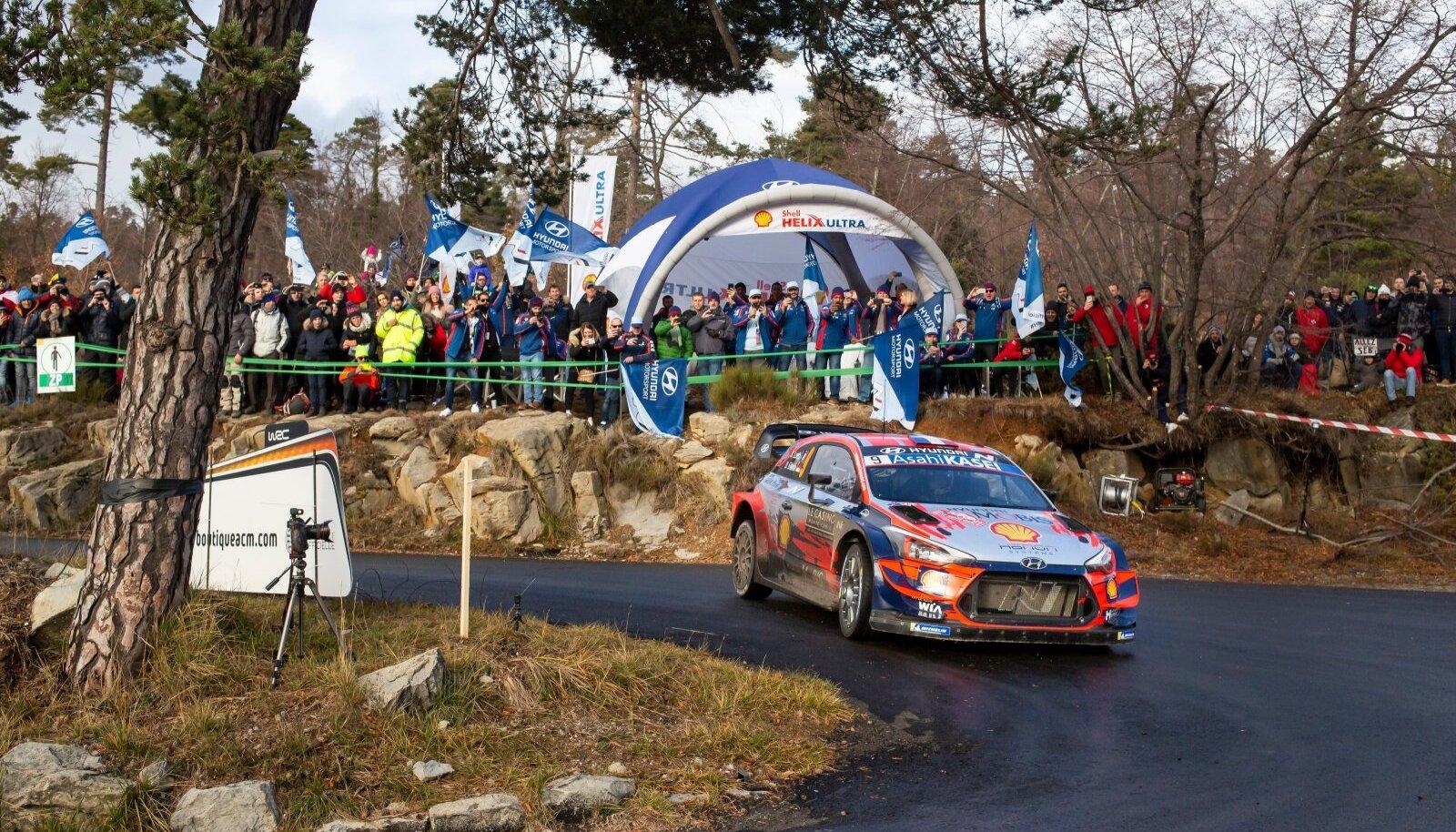 Monte Carlo ralli 2020