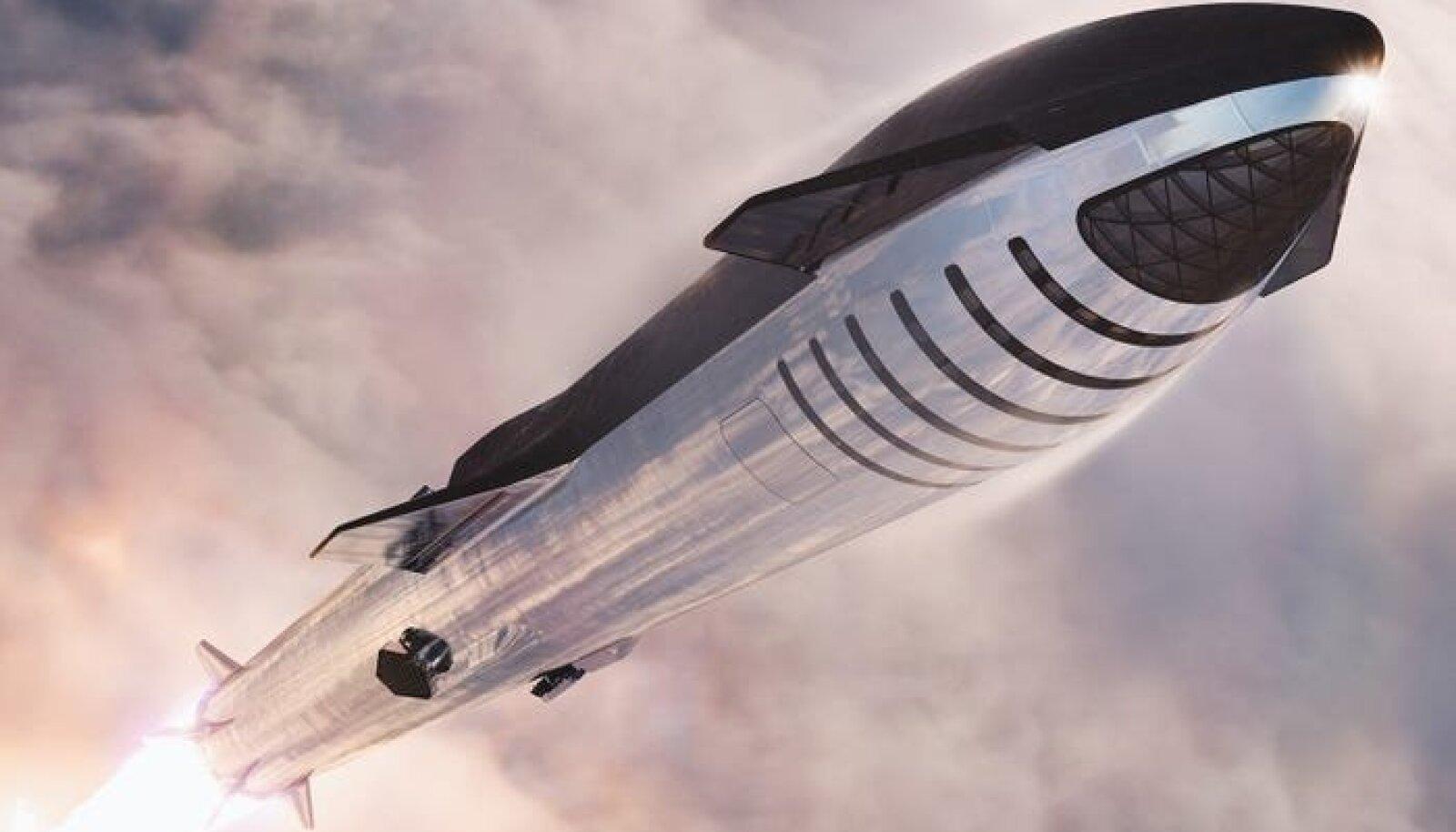 Starship (foto: SpaceX)