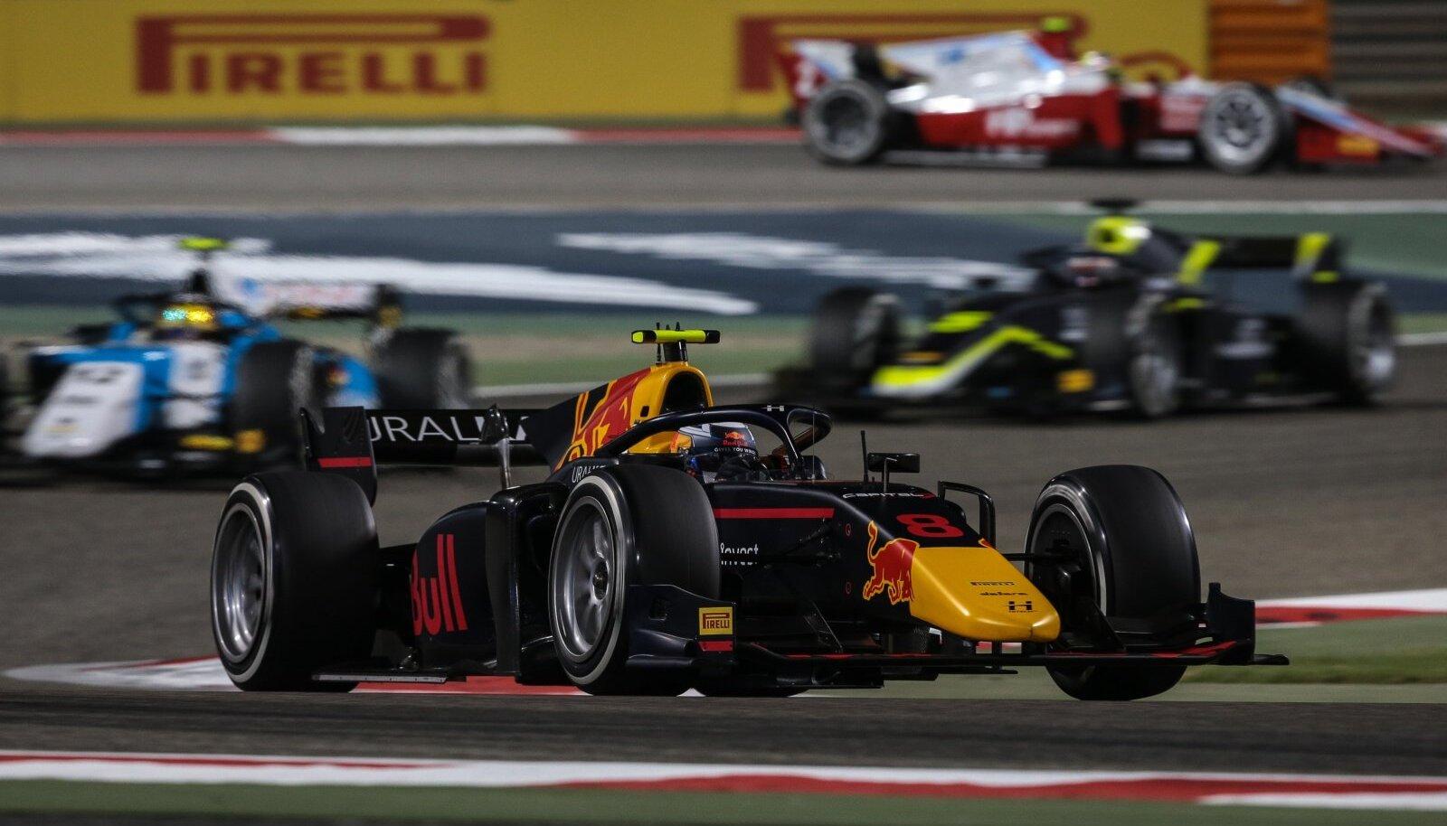 Jüri Vips teine sõit Bahreinis.