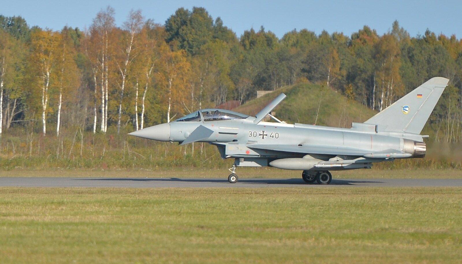 Saksa õhuväe Eurofighter
