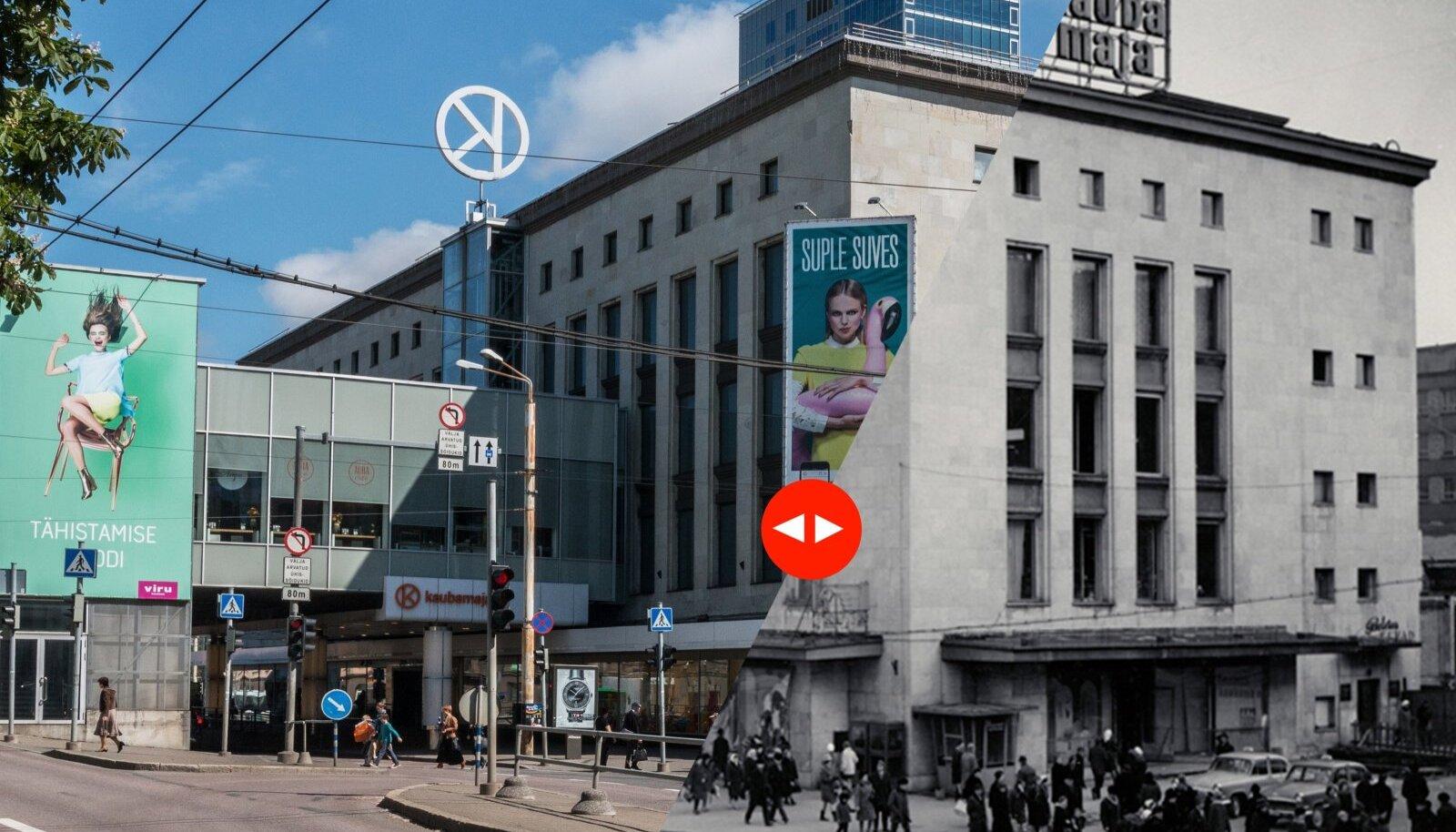 Tallinna Kaubamaja enne-pärast