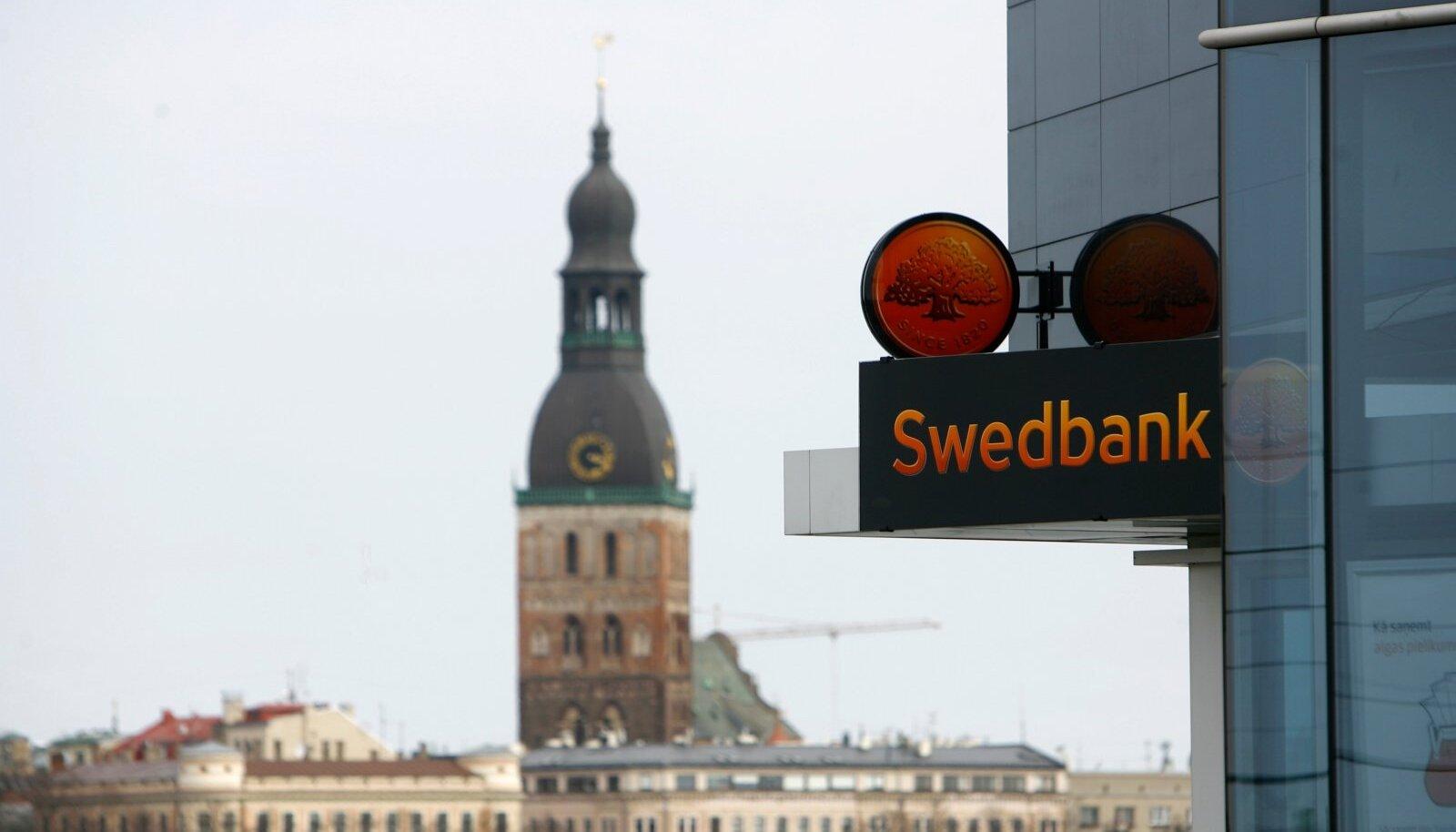 Riiast tehakse nüüd järelevalvet ka Eesti Swedbanki üle.