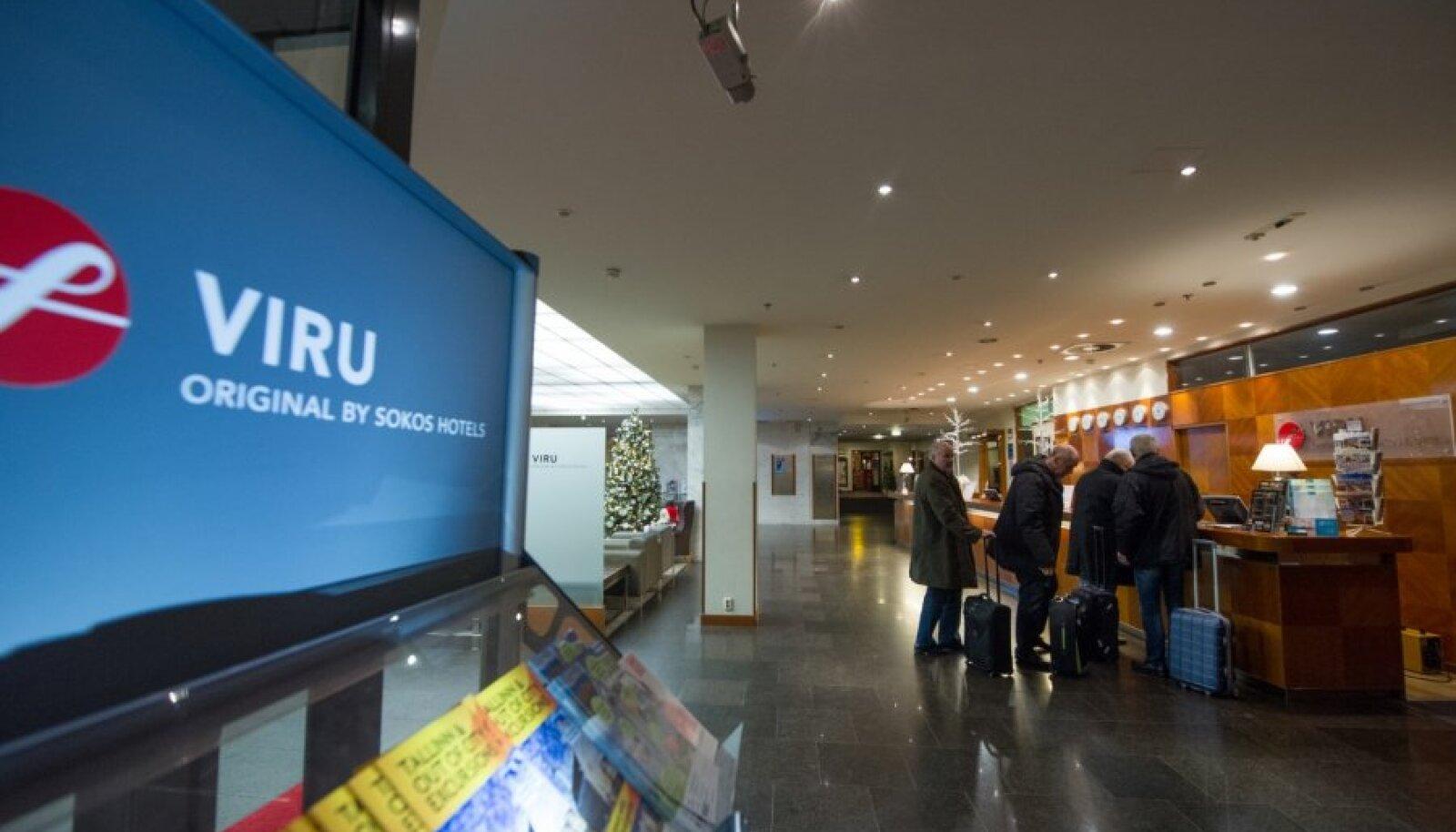Selle aasta lõpus on Vene turistide hulk rubla kursi languse tõttu Eestis tavapärasest palju väiksem. Viru hotell oskas toimuvat ette näha ja vajalikud ümberkorraldused teha.