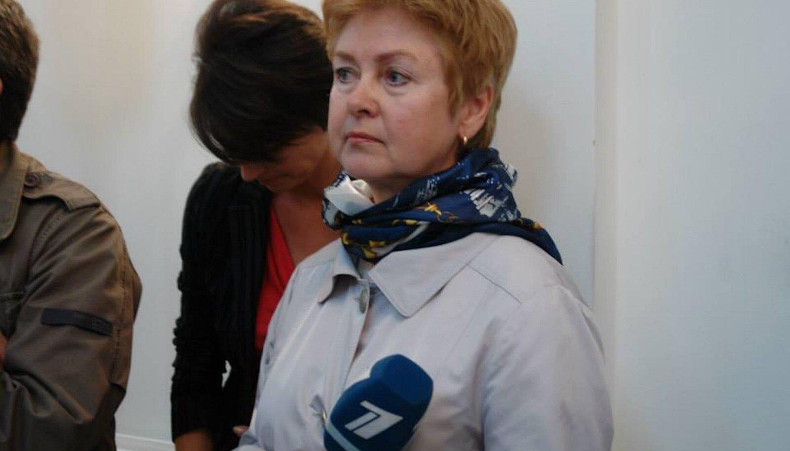 Депутат Рийгикогу, бывший репортер «Новостей Эстонии» ПБК Наталия Маллеус