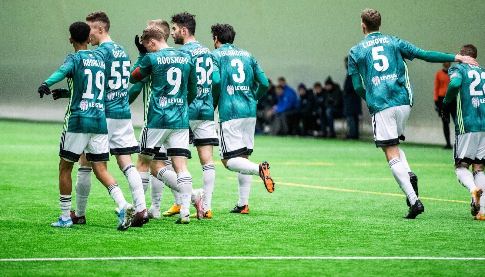 FCI Levadia on talvega kokku saanud väga esindusliku koosseisu. Taliturniiril on neljast mängust teenitud neli võitu.