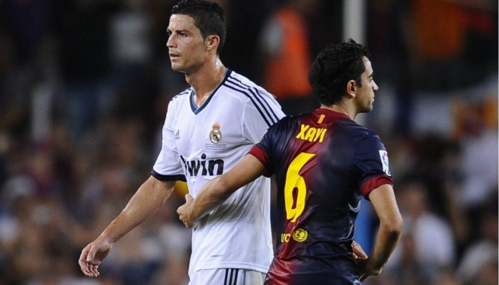 Ronaldo ja Xavi