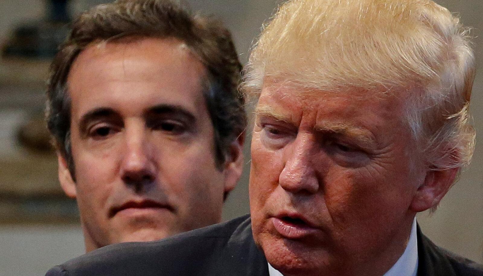 Michael Cohen ja Donald Trump 2016. aasta valimissügisel