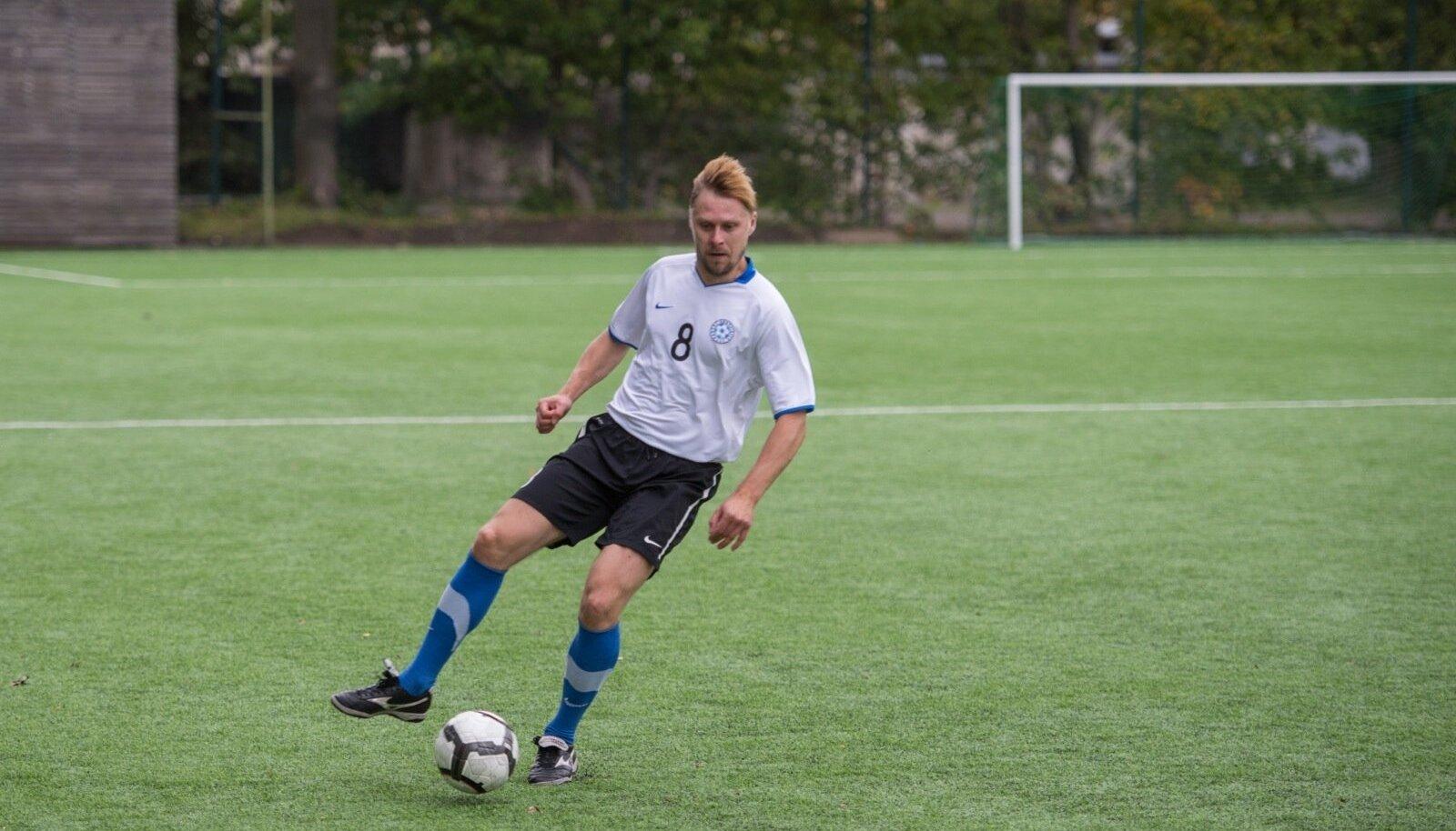 Näitlejate jalgpall: Eesti - Soome