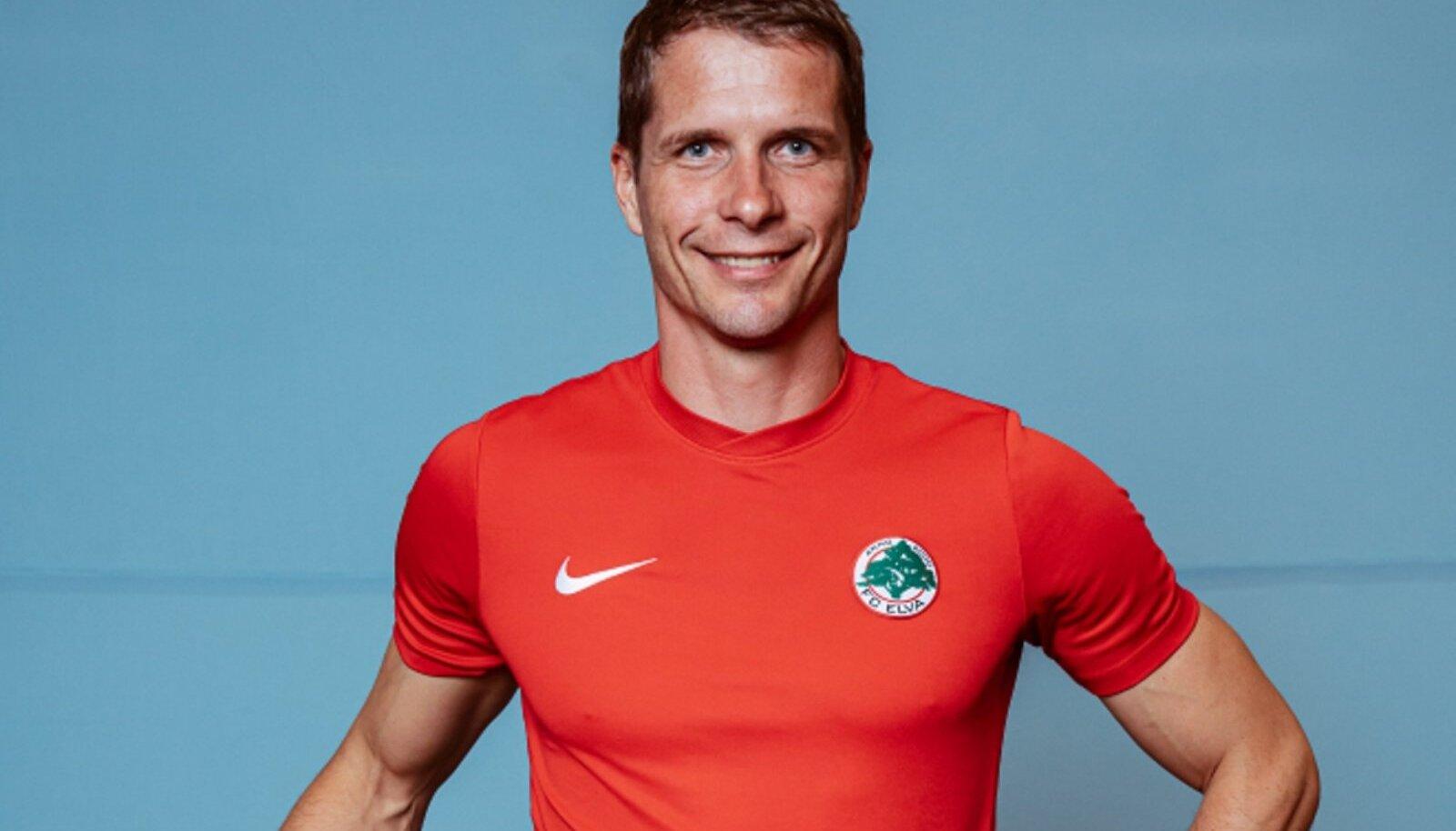 AMET LÄBI: Marek Naaris enam FC Elva ridadesse ei kuulu.
