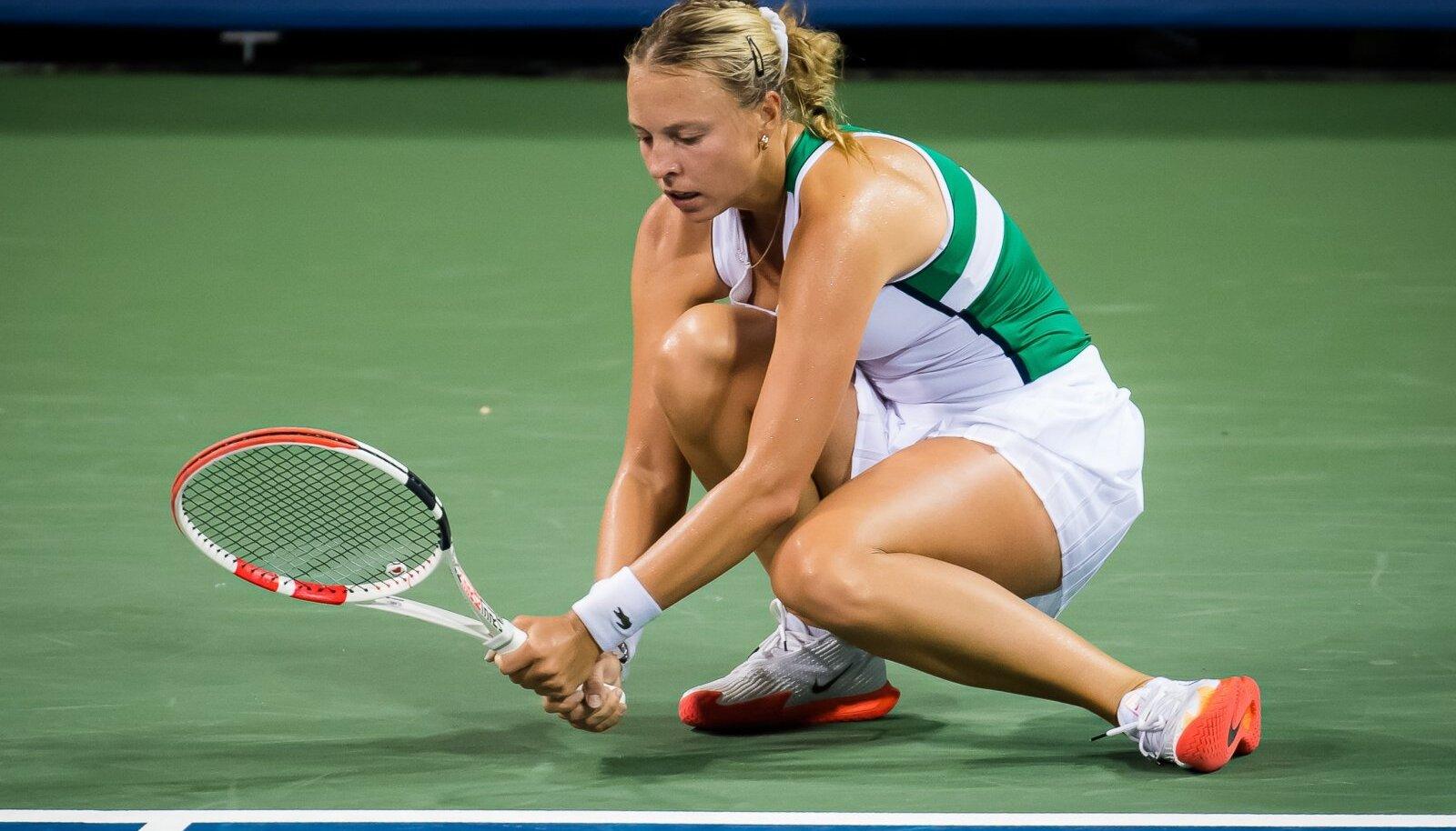 Anett Kontaveidi turniirid on viimasel ajal läbi saanud esimestes ringides.