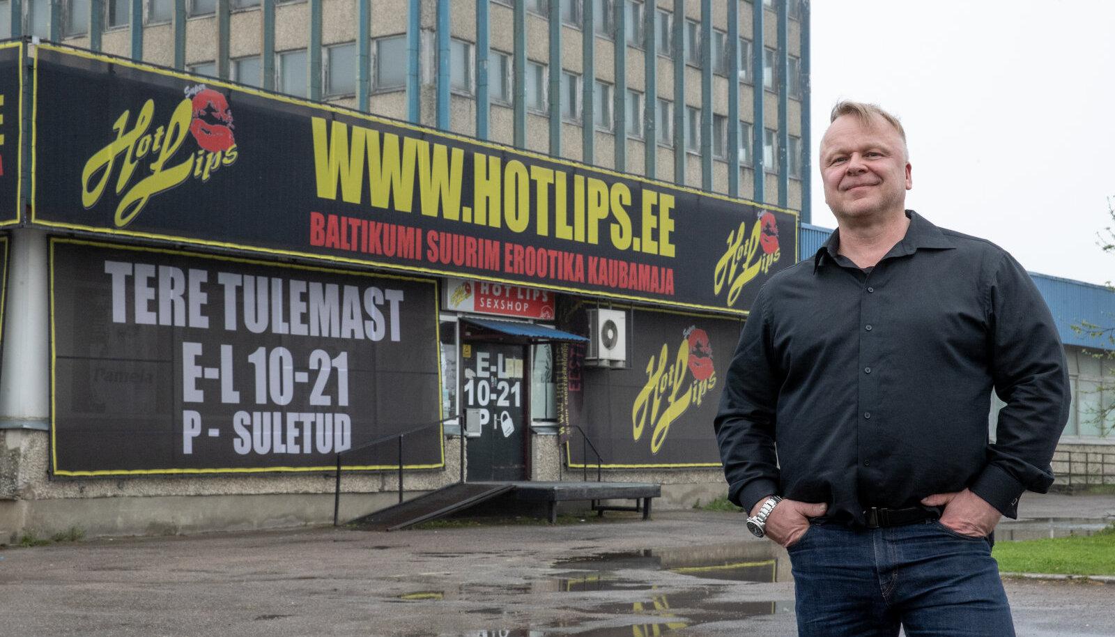 Timo Majuri (pildil) juhitav Hot Lips erootikapood võib peatselt alternatiivbörsile jõuda