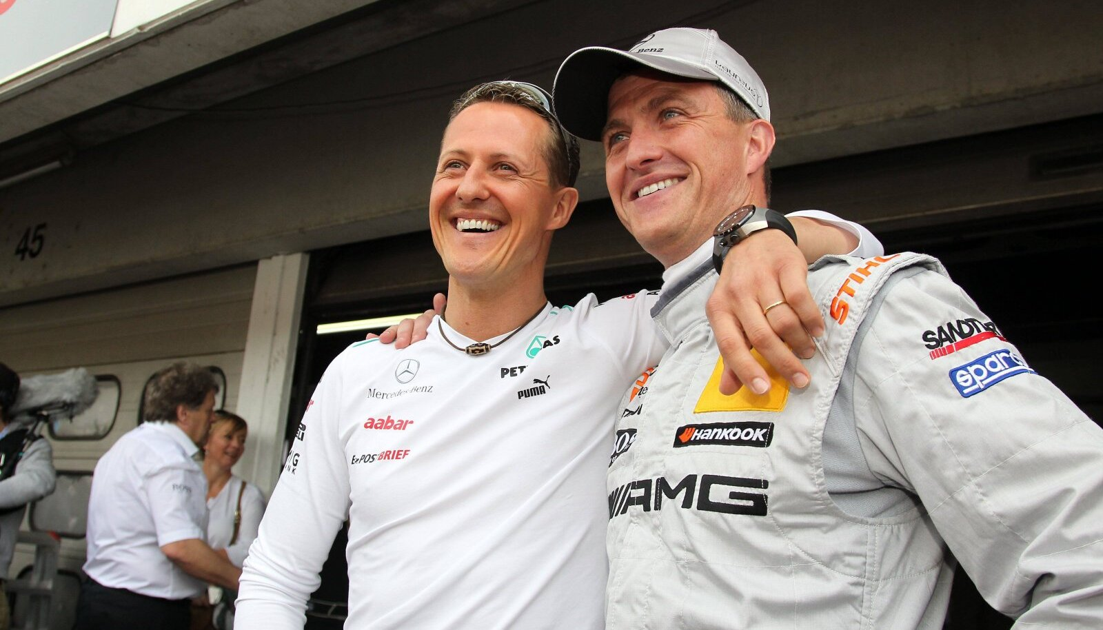 Michael ja Ralf Schumacher