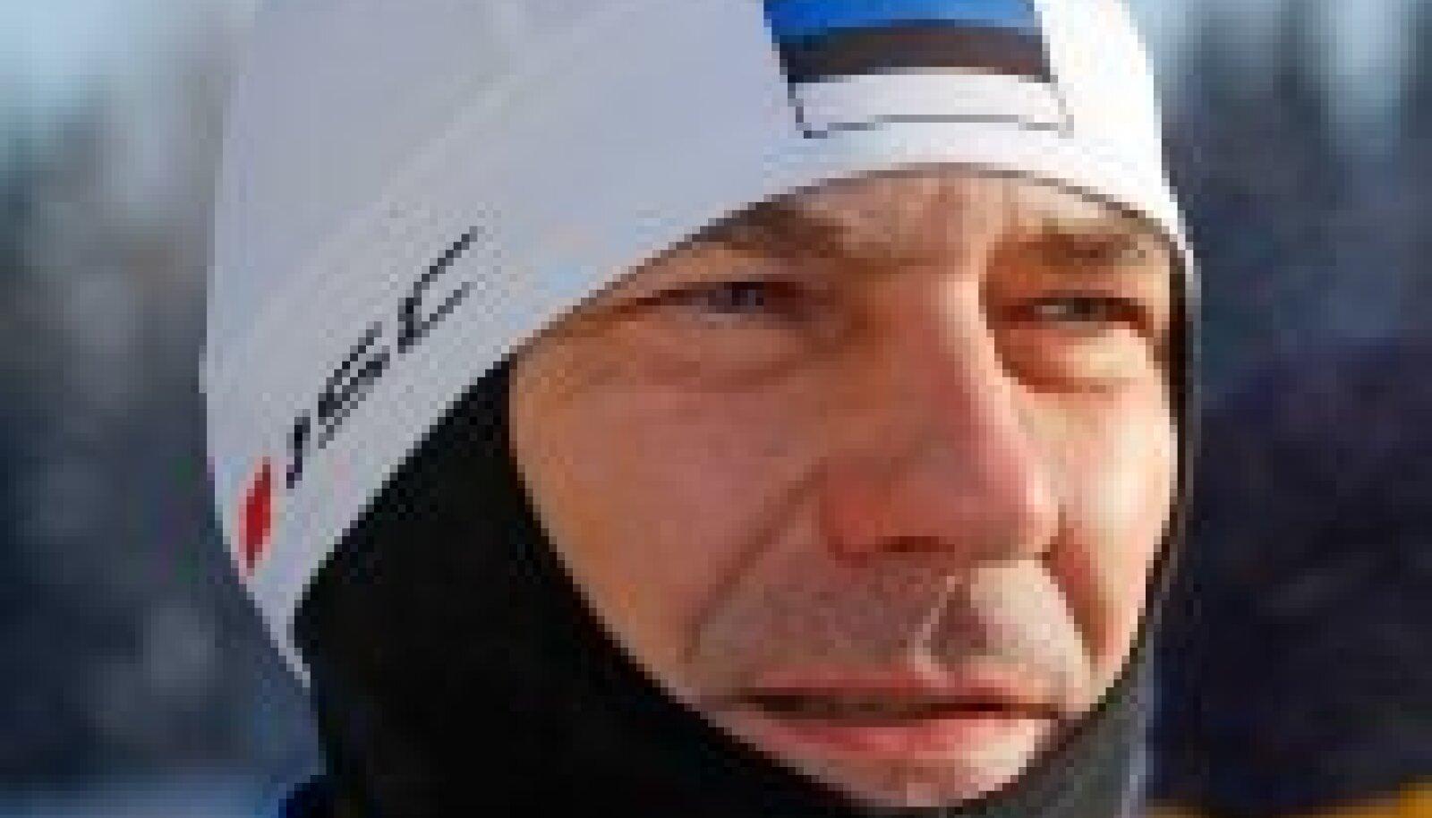 Tartu maratonil: Andrus Ansip on ainus peaminister, kes on oma valitsemisajal sõitnud läbi kõik pikamaasuusatamise Worldloppeti sarja etapid.  (Karli Saul / Scanpix)