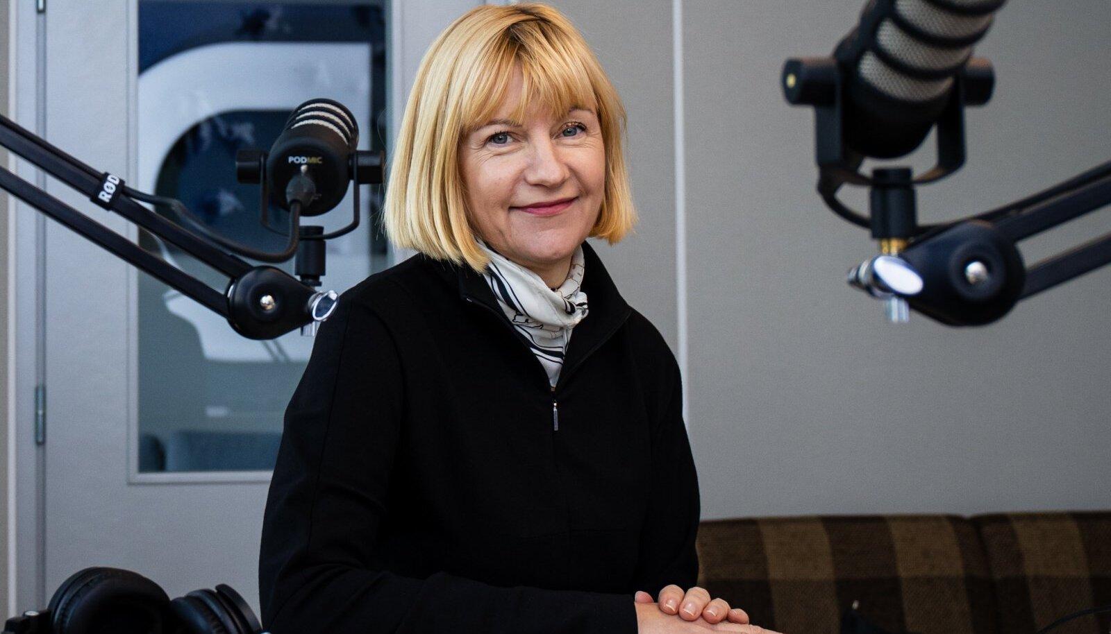 "Tallinn, 14.09.2021. Podcasti ""Vaim vardas"" stuudios käis Riina Sildos."