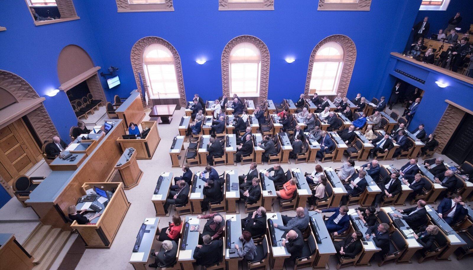Presidendivalimised riigikogus