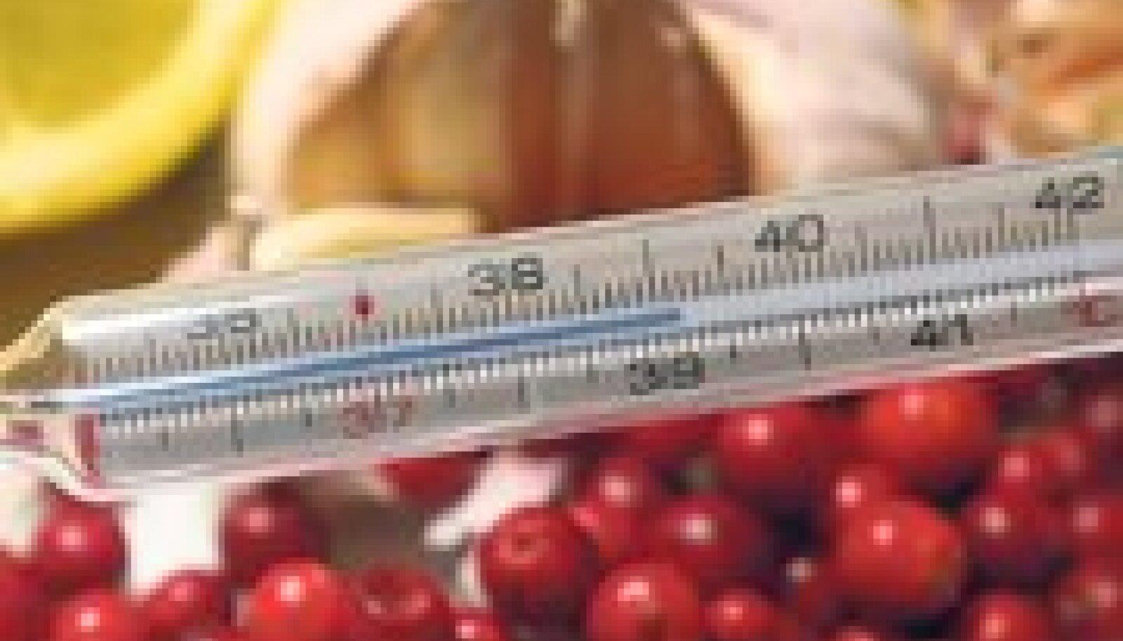 Algava viirushaiguse korral võib abi olla vanaemade kavalustest – söö küüslauku ja sibulat, joo ohtralt teed  sidruni ja meega ning maitsva joogi saab ka pisikestest punastest vitamiinipommidest jõhvikatest.
