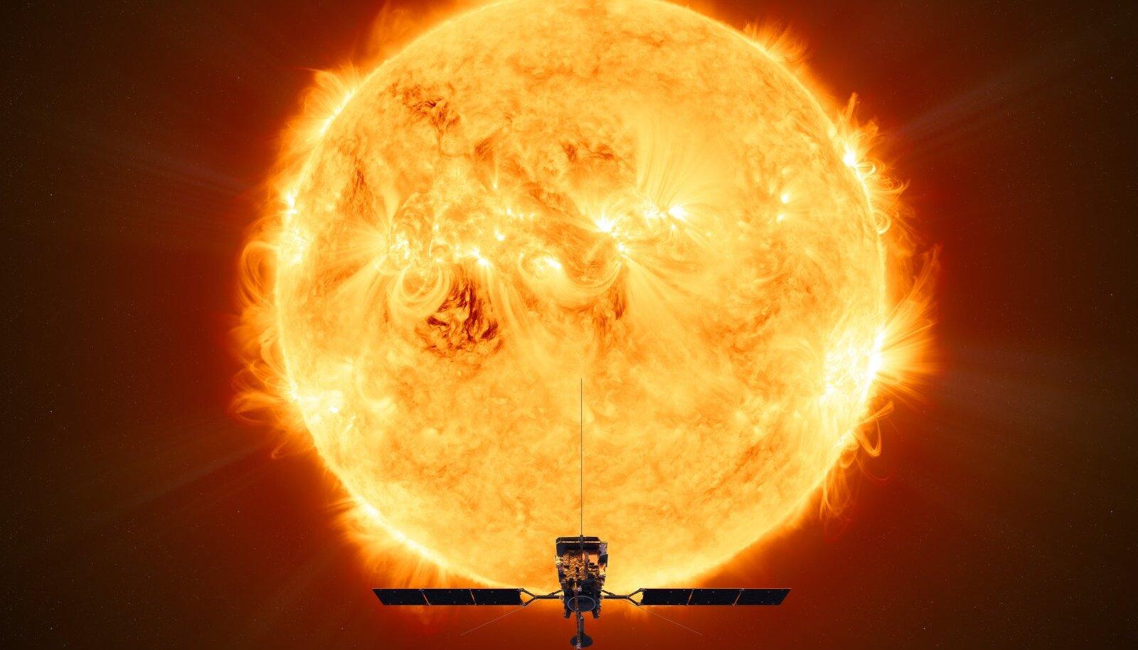 Solar Orbiter kunstniku nägemuses