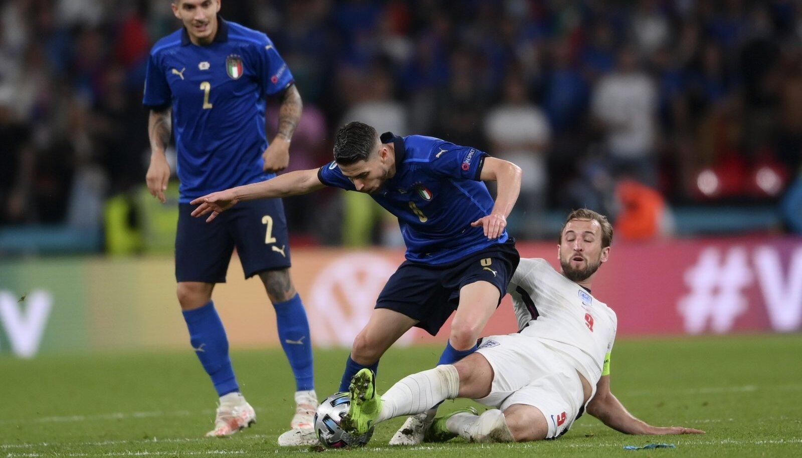 Jalgpalli EM-i finaal Inglismaa - Itaalia.
