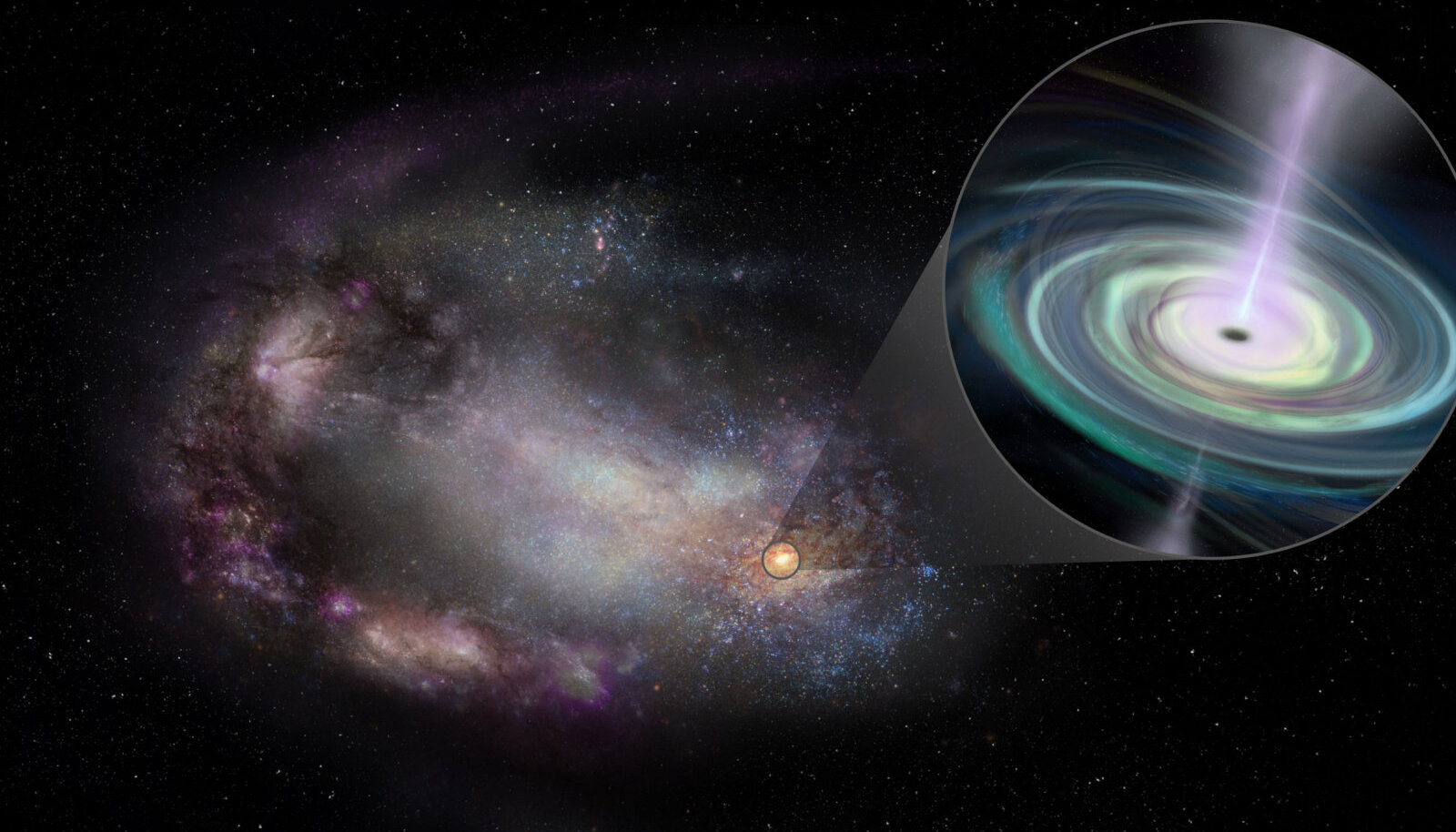 Kääbusgalaktikates ei pruugi mustad augud asuda galaktikate keskmes