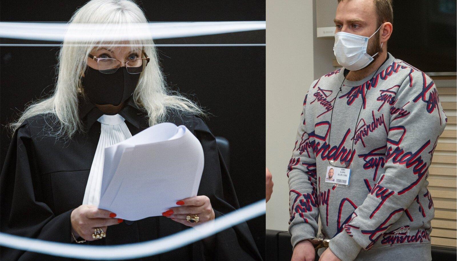 """""""SEE ON KÜLL LUBAMATU!"""": Kohtunik Merle Parts ei nõustunud narkomüüja leebe karistamisega."""
