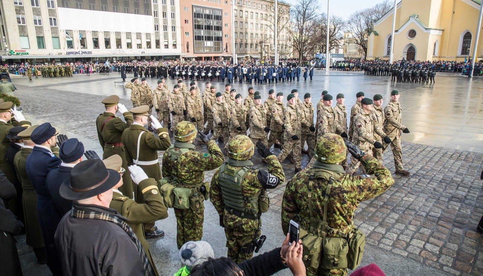 EV99 Briti sõdurid