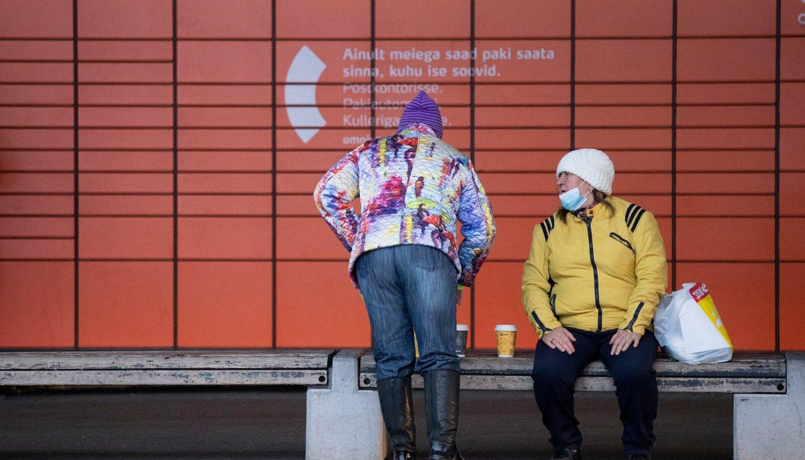 Maskide kandmine Balti jaama piirkonnas