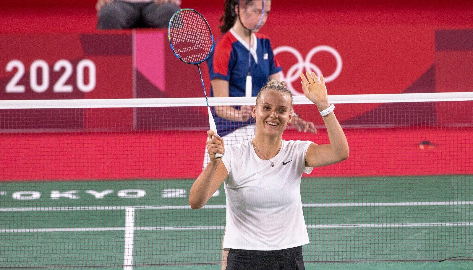 Kristin Kuuba Tokyo olümpial.